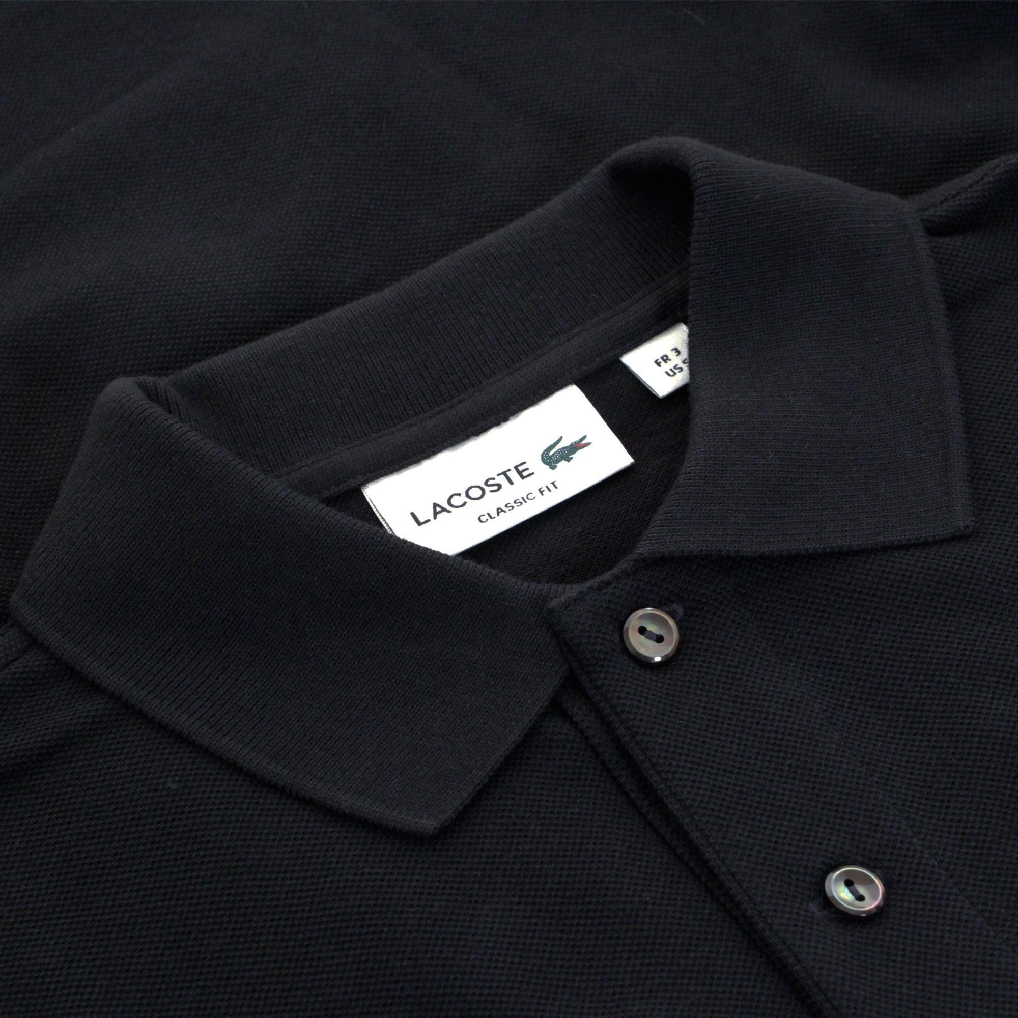 9d8323da Lacoste - Blue Pique Navy Ls Polo Shirt L1312 166 for Men - Lyst. View  fullscreen