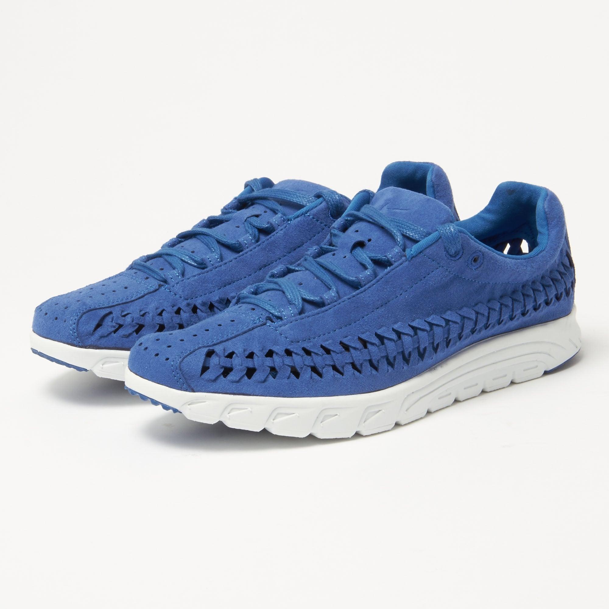 info for fa711 2de3d Lyst - Nike Mayfly Woven Royal Blue Sneakers 833132-401 in Blue for Men