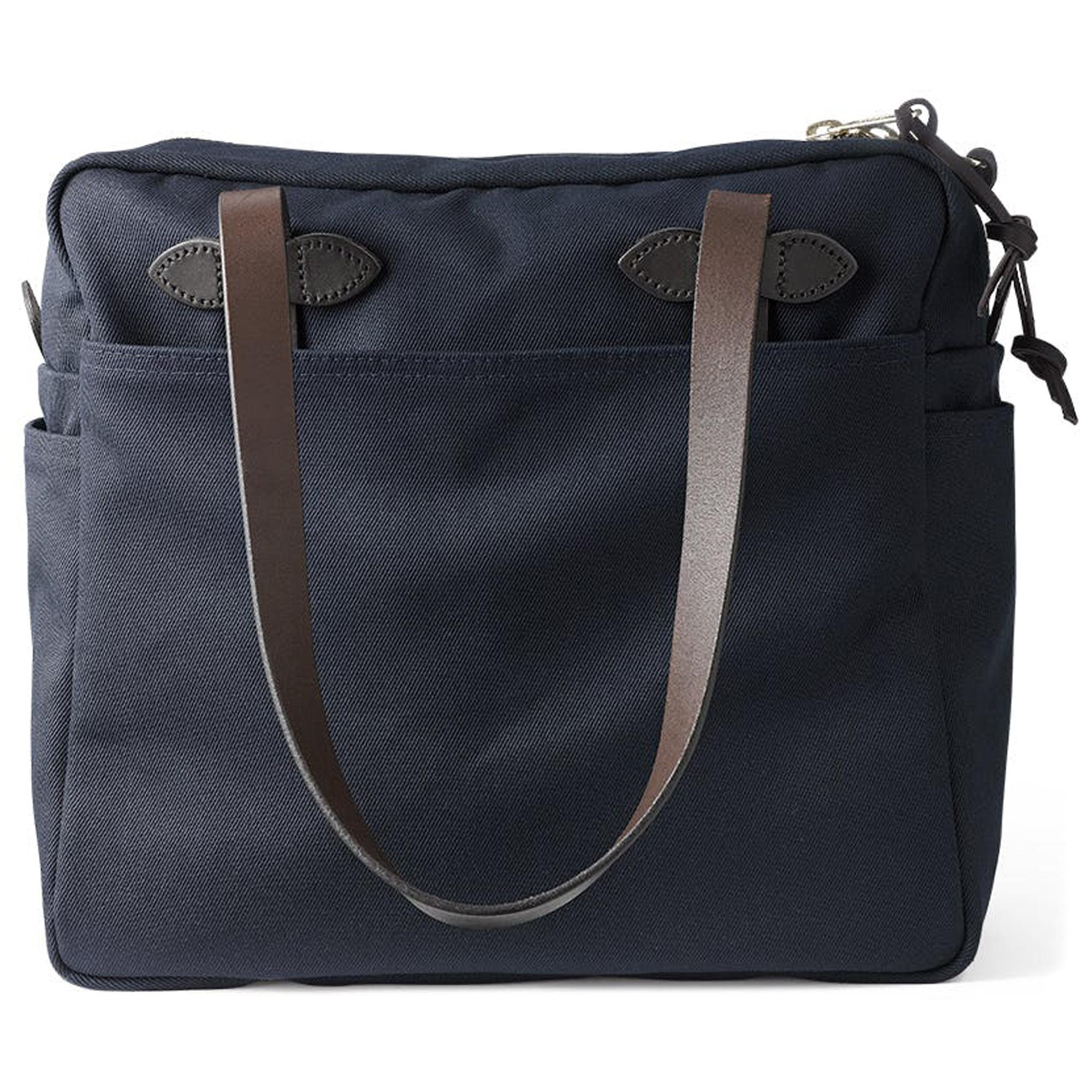 Filson Women/'s Rugged Twill Tote Bag with Zipper Otter Green