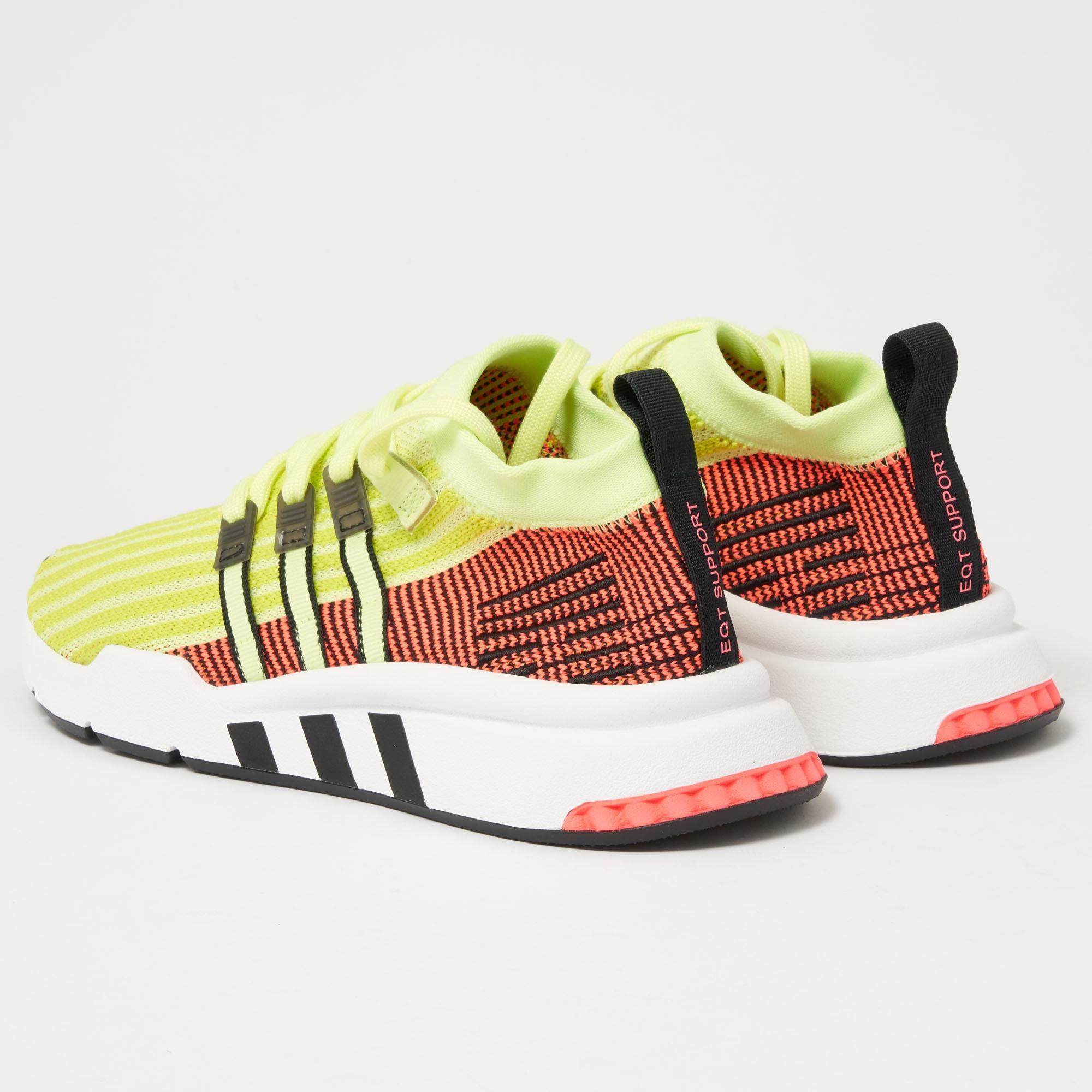 best value 44e7f 03a66 Adidas Originals - Multicolor Eqt Support Mid Adv Primeknit for Men - Lyst.  View fullscreen