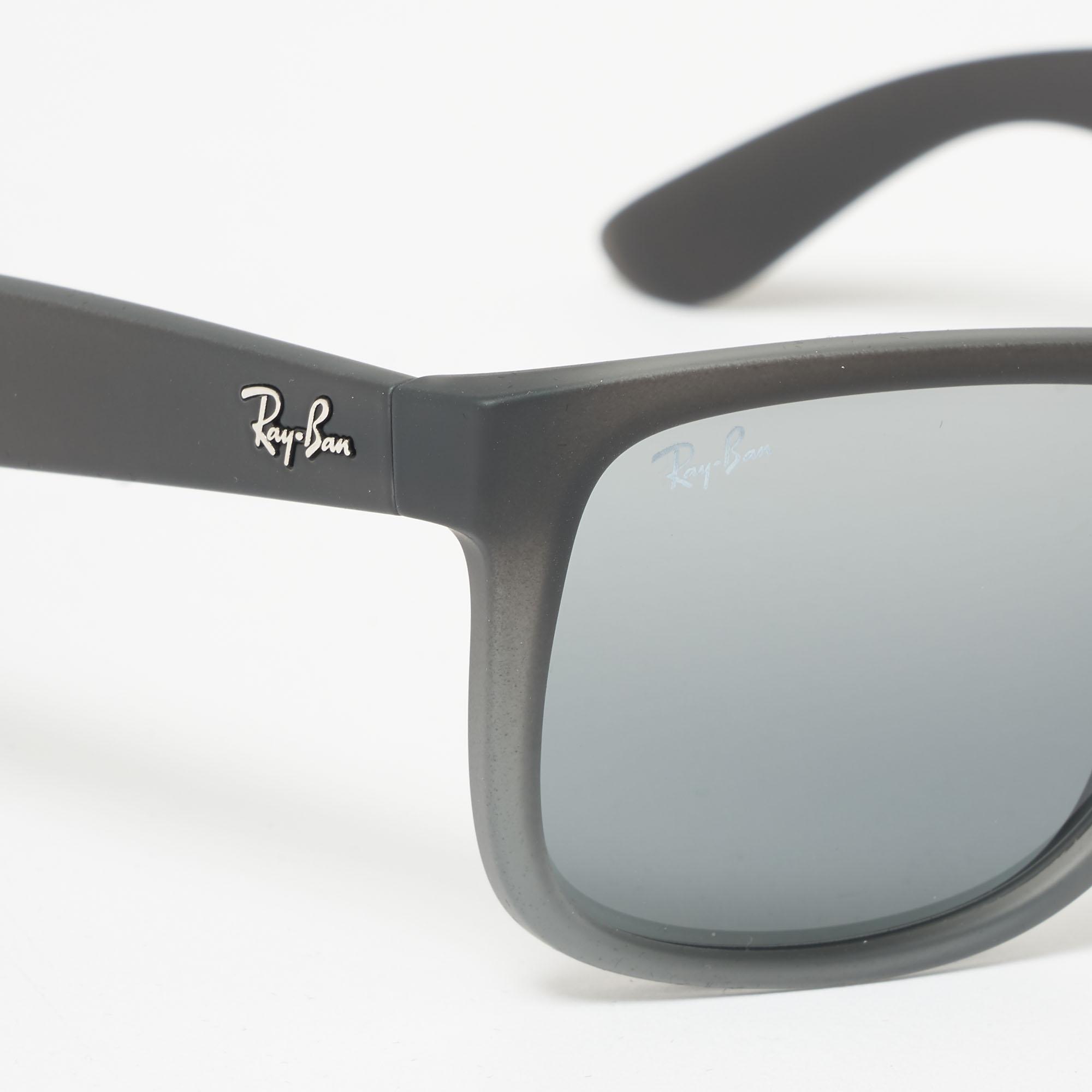 e549067449 ... top quality ray ban metallic justin sunglasses silver gradient mirror  lenses lyst. view fullscreen 6fec4