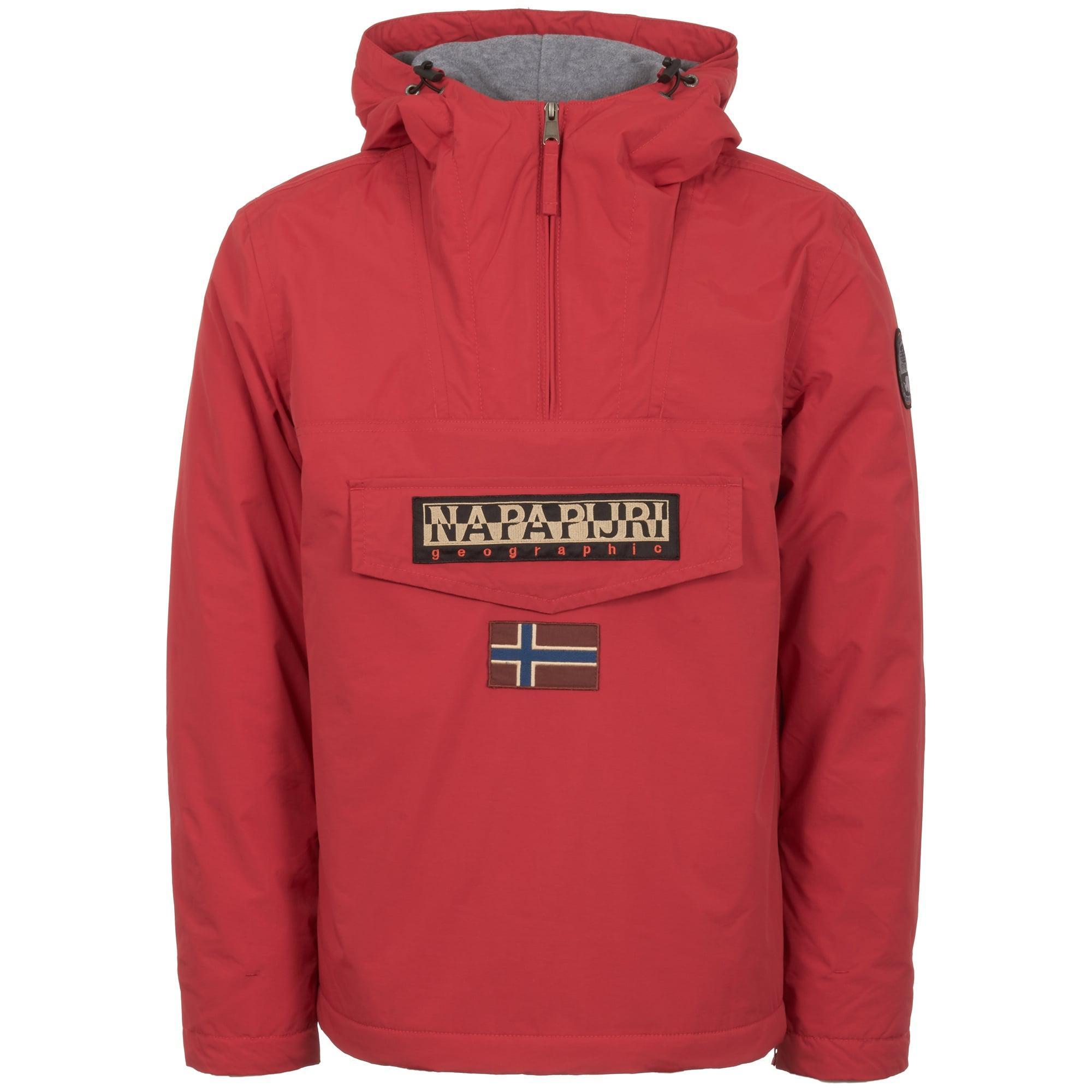 Lyst Napapijri Rainforest Winter Jacket In Red For Men