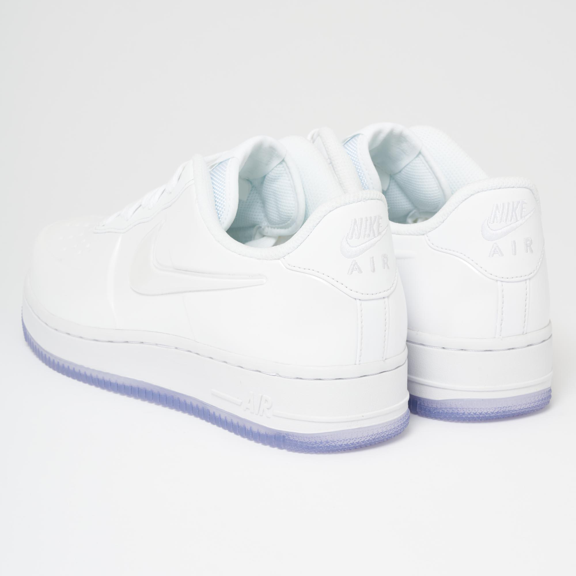 quality design 4f7ff aa670 Nike White Air Force 1 Foamposite Pro Cupsole