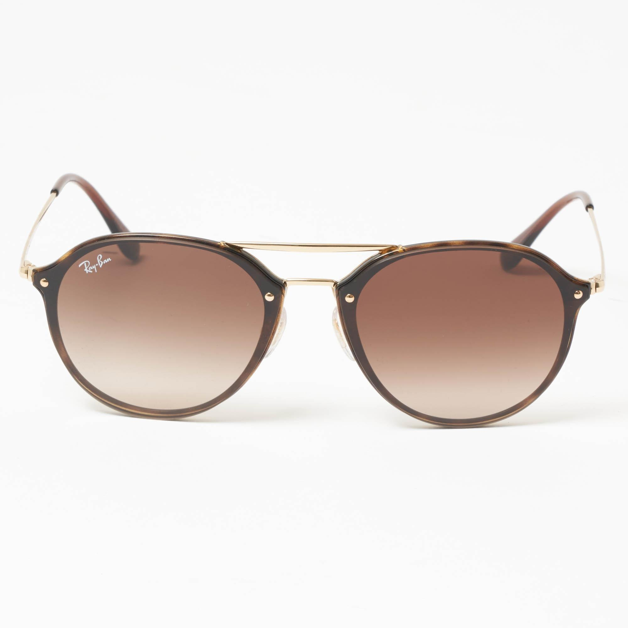 e0ccd7b9f7 Ray-Ban - Blaze Double Bridge Sunglasses - Brown Gradient Lenses - Lyst.  View fullscreen