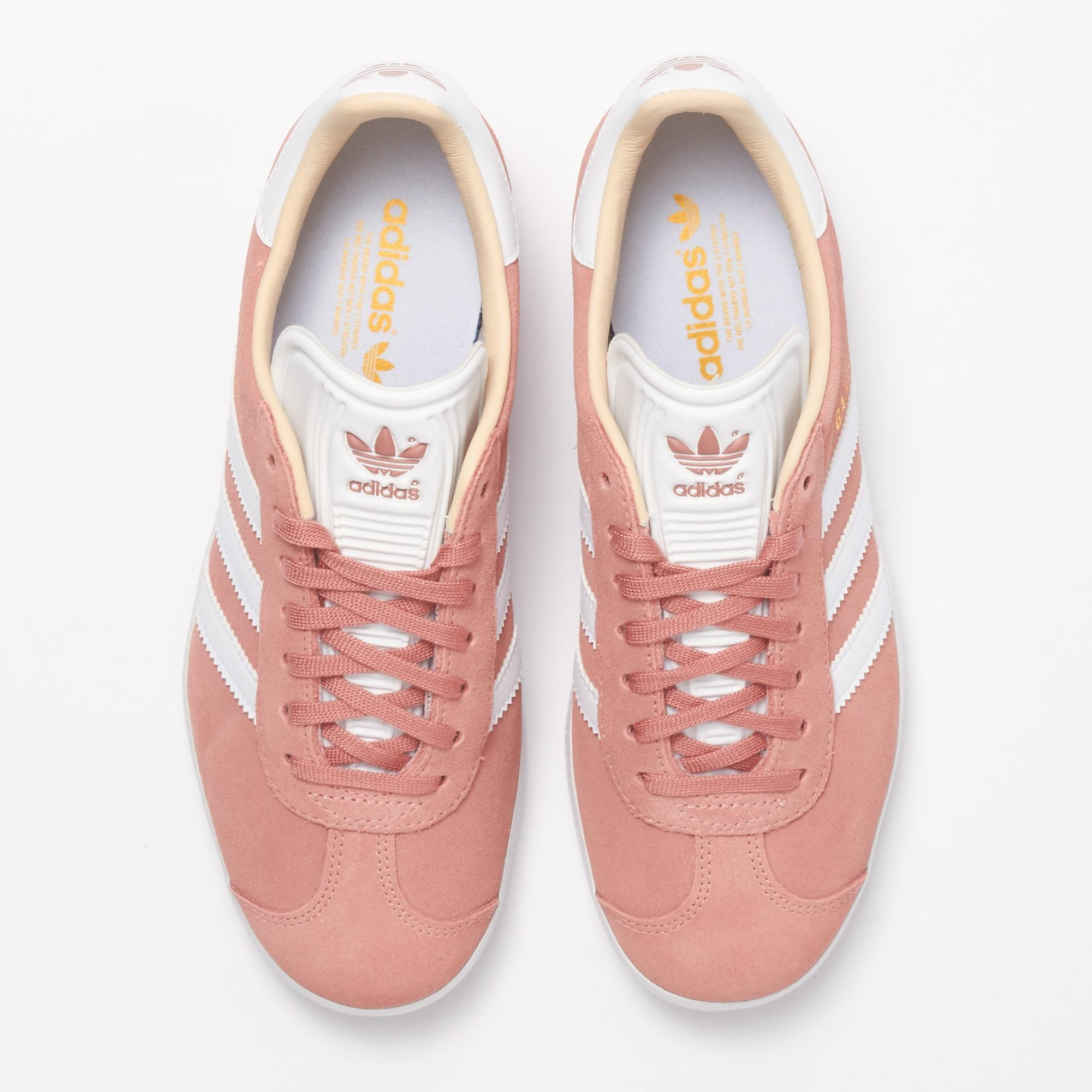 Lyst adidas Originals Gazelle Trainers ash Pearl en color rosa