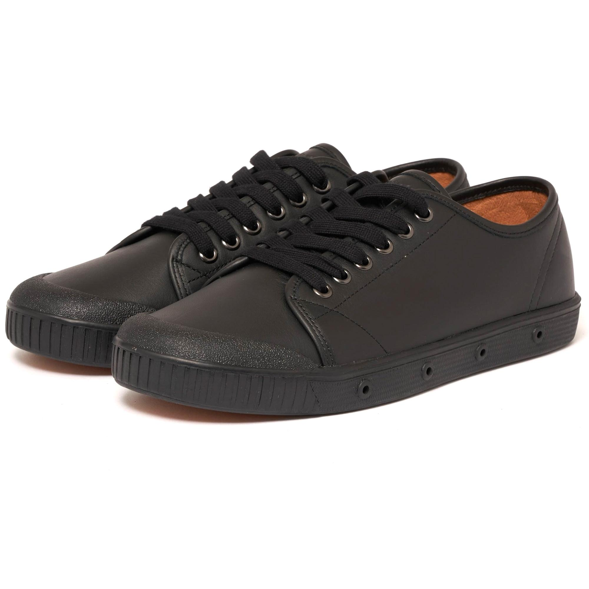 Spring Court Nappa Leather Shoes in Black for Men