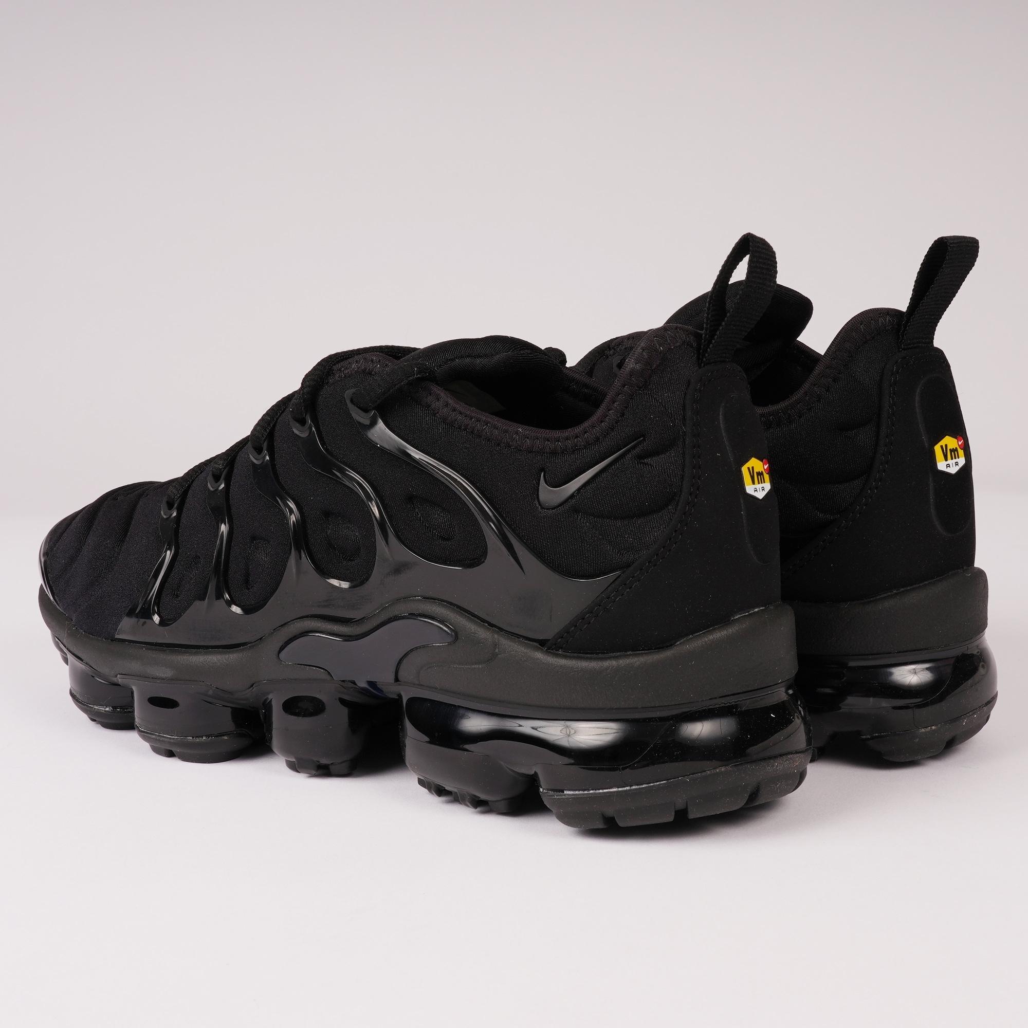 fb57ffaa3113 Nike - Black Vapormax Plus for Men - Lyst. View fullscreen