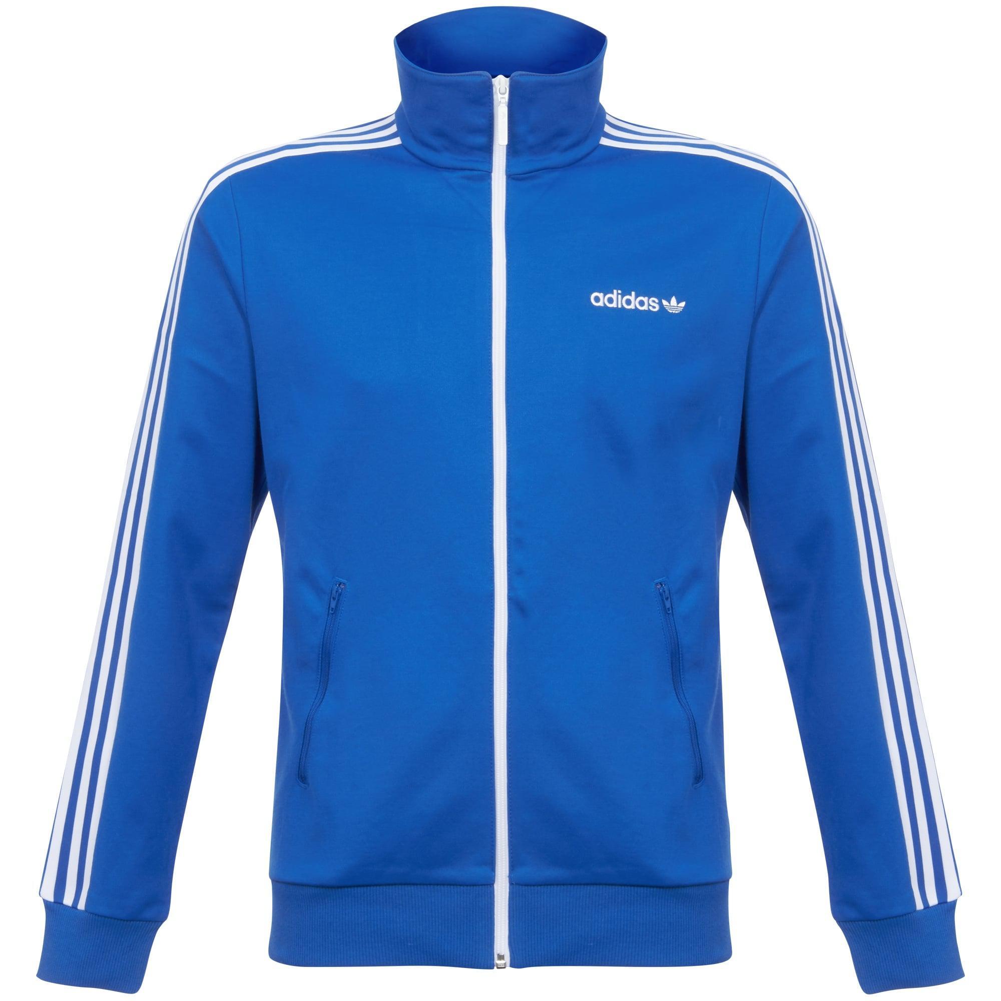 lyst adidas originals beckenbauer track jacket in blue for men. Black Bedroom Furniture Sets. Home Design Ideas