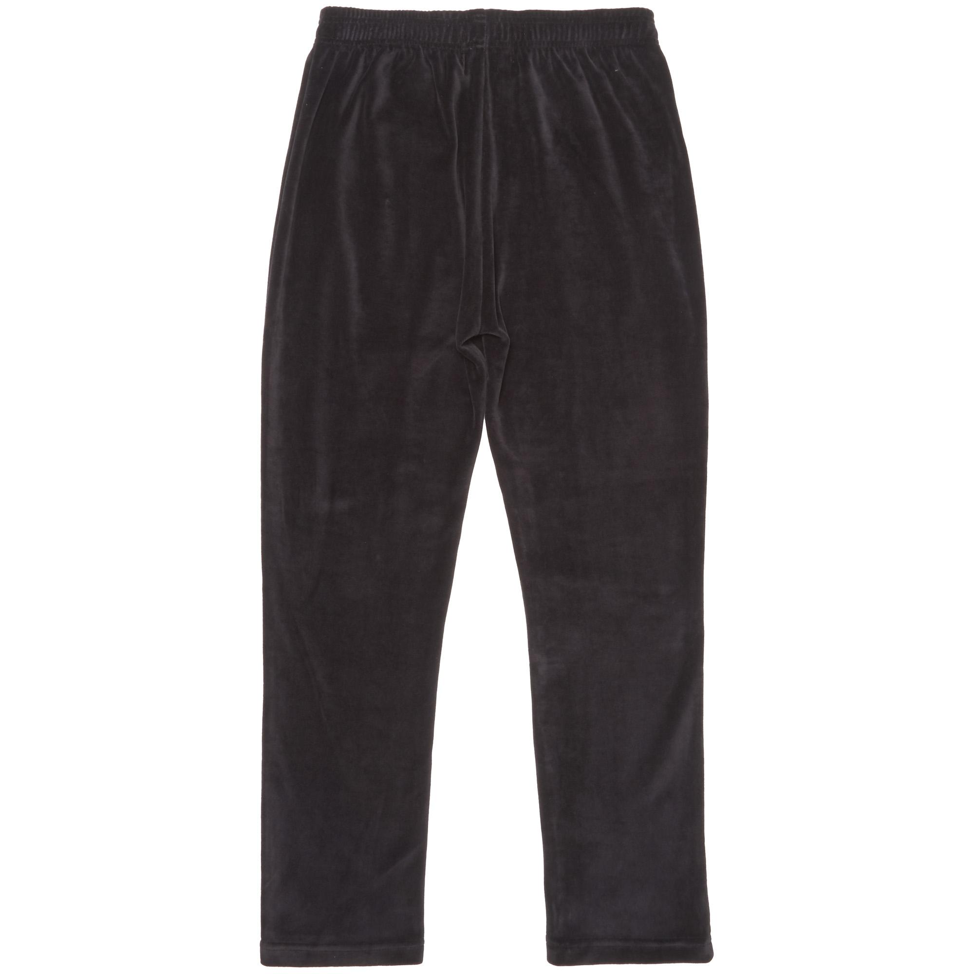 Fred Perry Cotton Velour Track Pants in Black