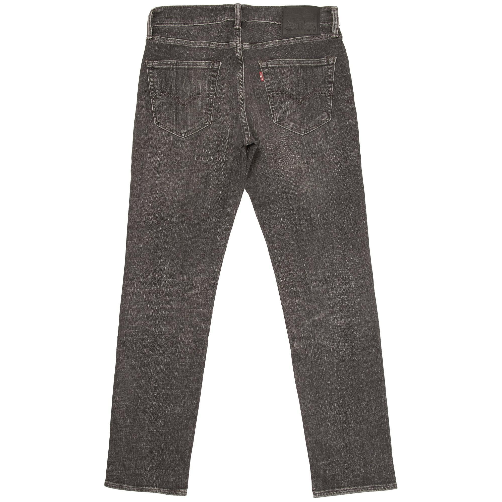 Levi's Denim 511Tm Slim Fit Jeans in Grey (Grey) for Men