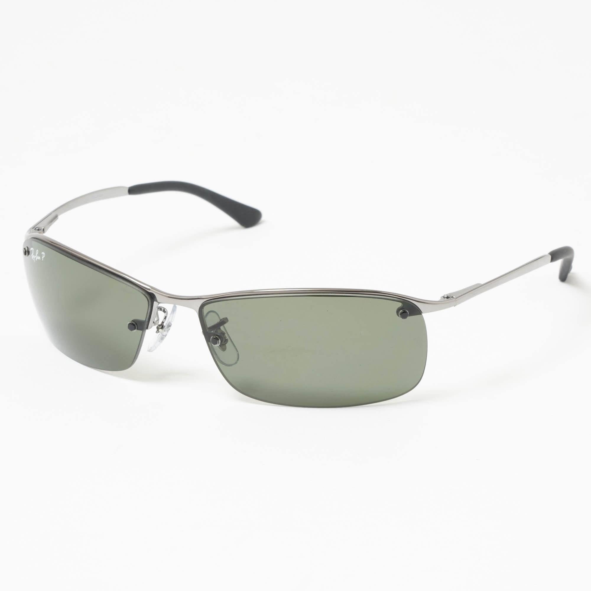 Ray-Ban Chrome Rb3183 Sunglasses Classic Green Lenses Rb3183-004 Colou for Men