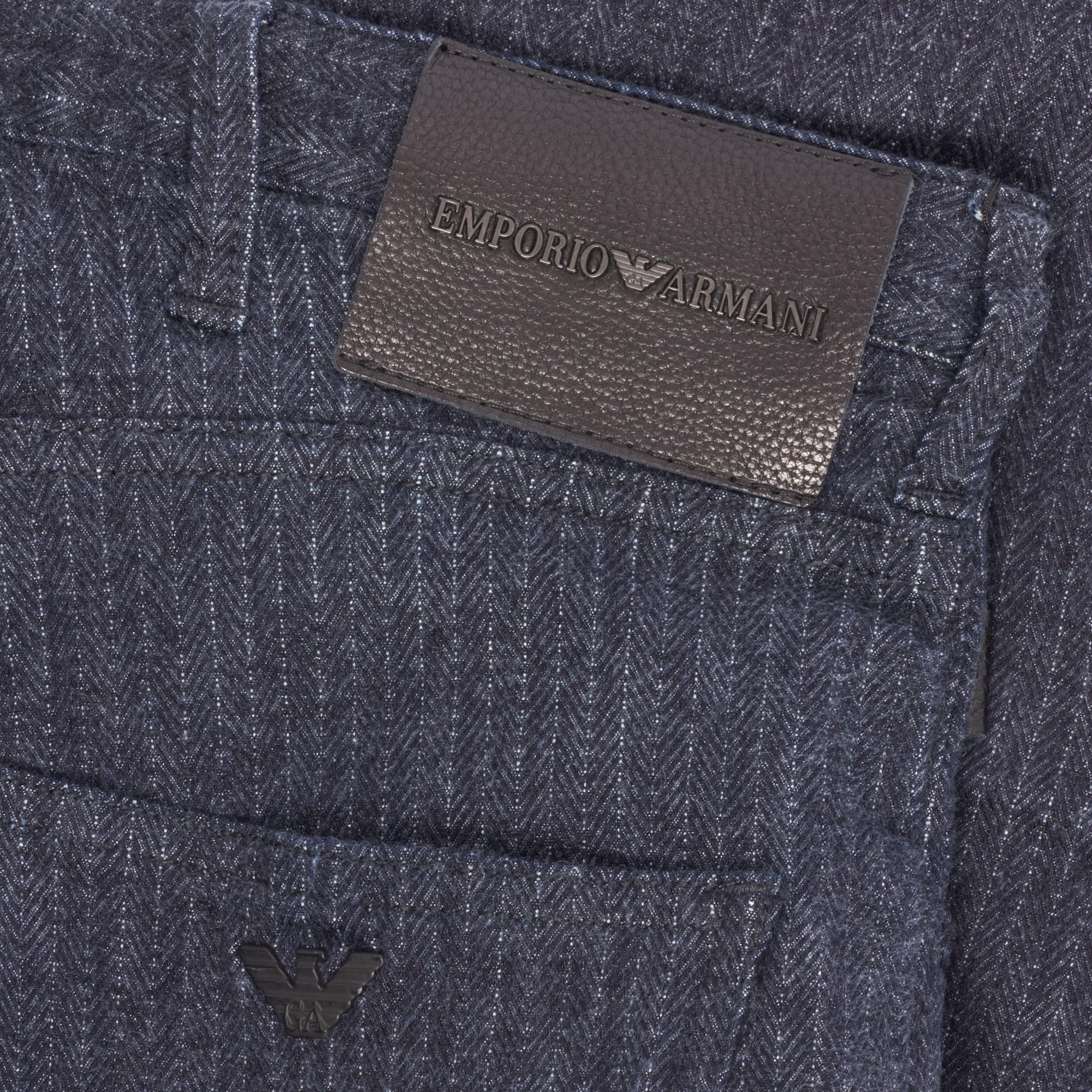 bfffaca5d2 Emporio Armani J04 Loose Fit Striped Jean in Blue for Men - Lyst