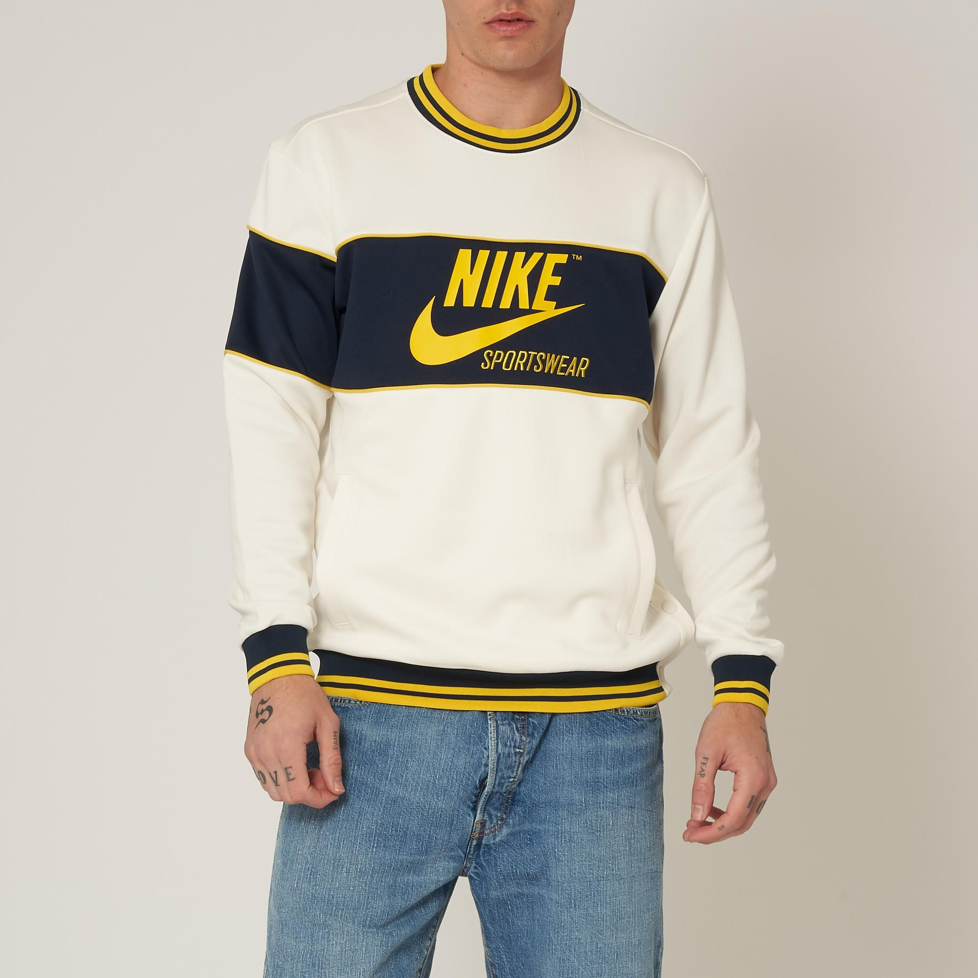 new styles 5a52a 2b634 Nike Sportswear Archive Crew Neck Sweatshirt for Men - Lyst