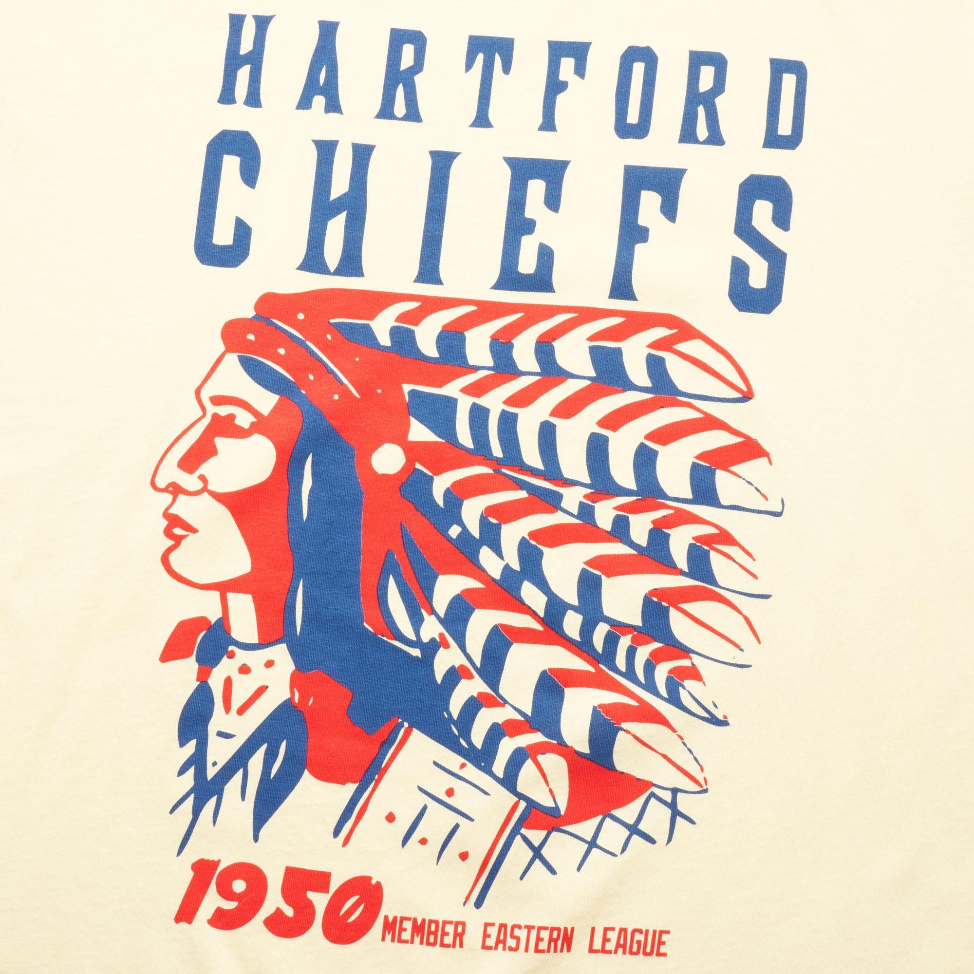 f1162dc17 Ebbets Field Flannels Cream Hartford Chiefs for Men - Lyst