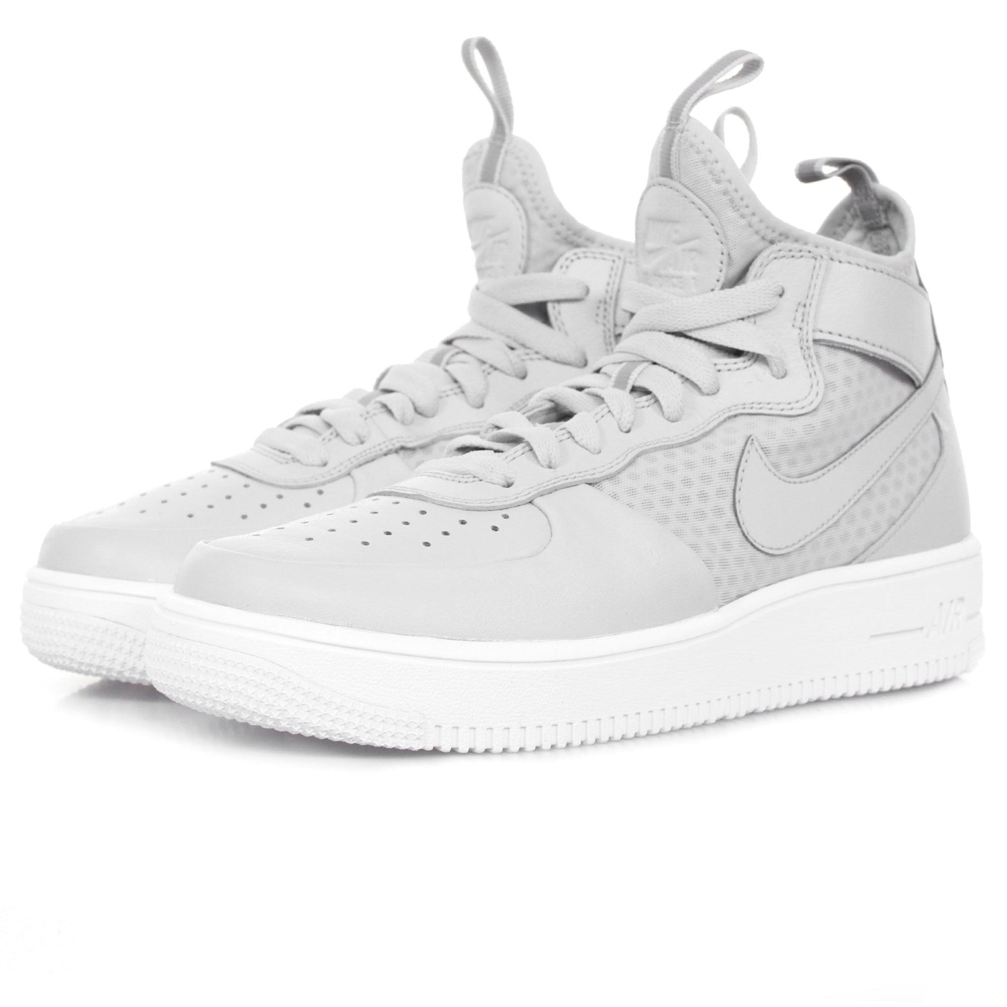 Lyst - Nike Air Force 1 Ultraforce Mid Platine Shoe 864014 in White ... 187f1abe8