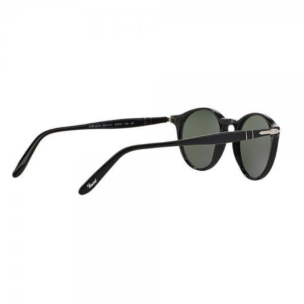 Persol Po3092Sm Black Polarized Sunglasses 0Po3092Sm for Men