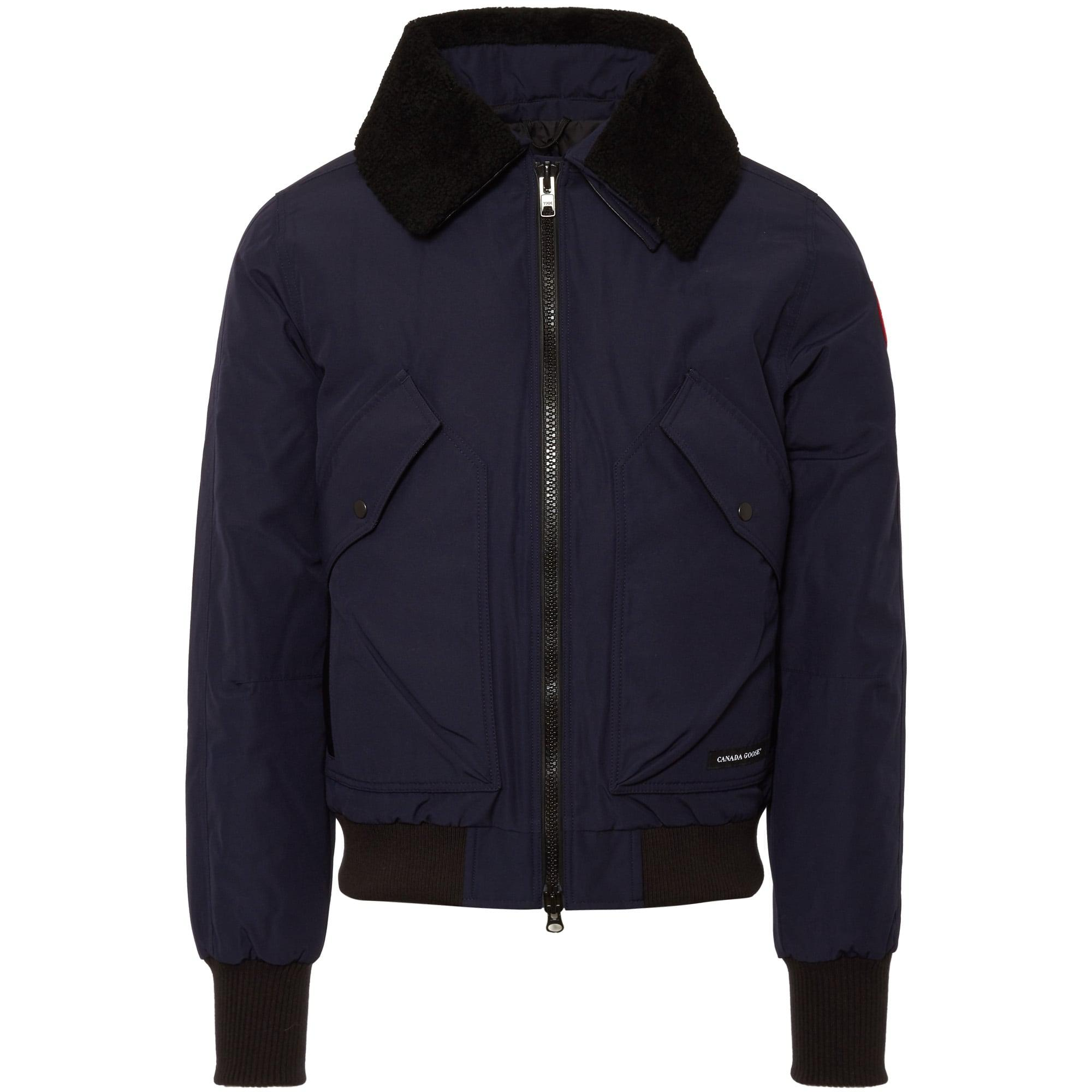 Lyst - Canada goose Bromley Bomber Jacket in Blue for Men