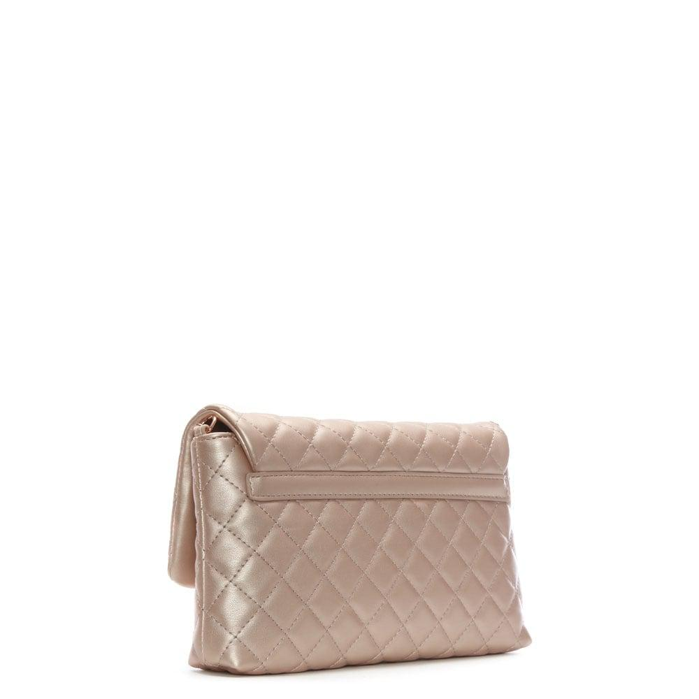 Love Moschino Molly Pink Quilted Cross-body Bag