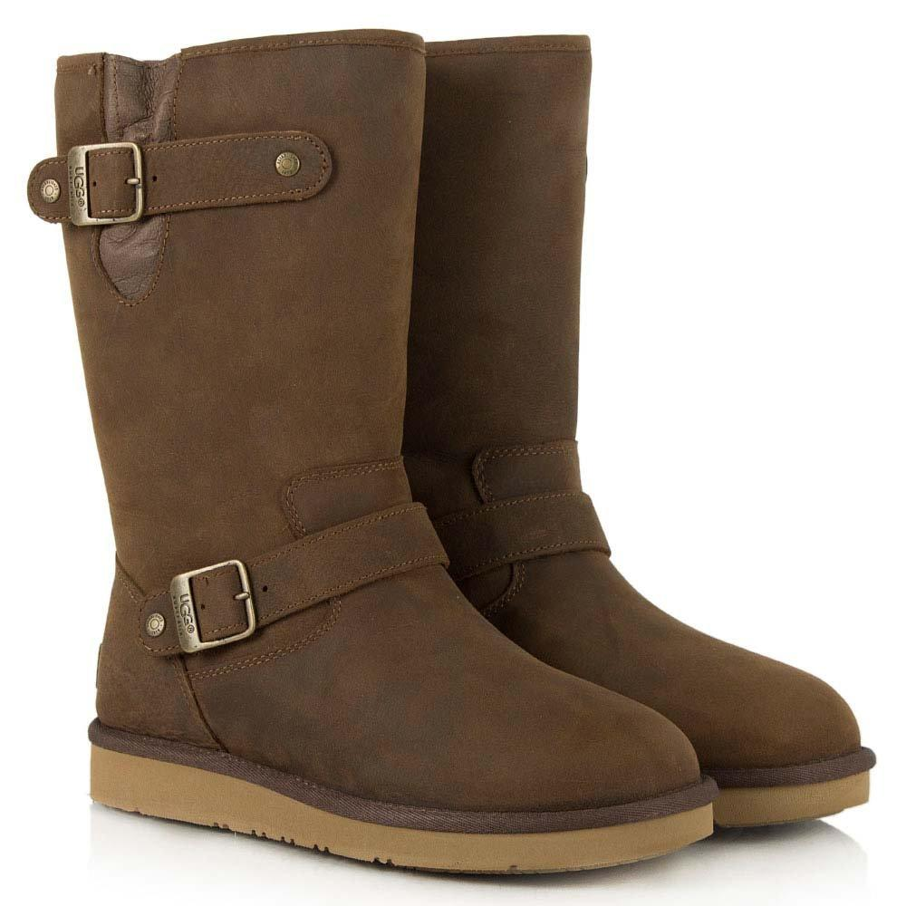 Ugg Leather Toast Sutter Women S Sheepskin Calf Boot In