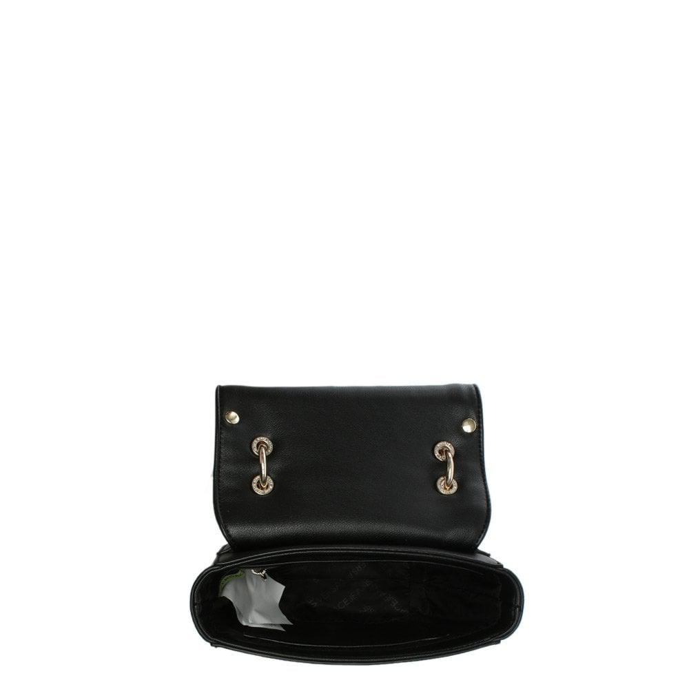 Versace Jeans Couture Horseshoe Black Studded Cross-body Bag