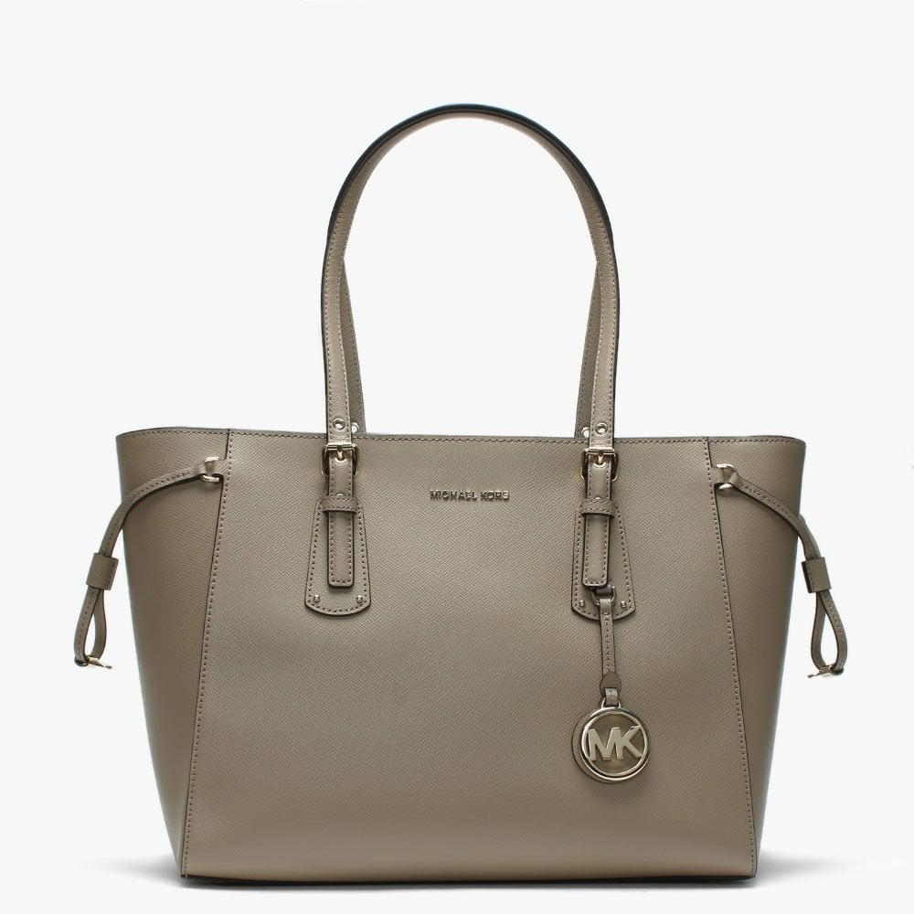 e0441885654c Michael Kors Voyager Truffle Saffiano Leather Tote Bag - Save 33% - Lyst