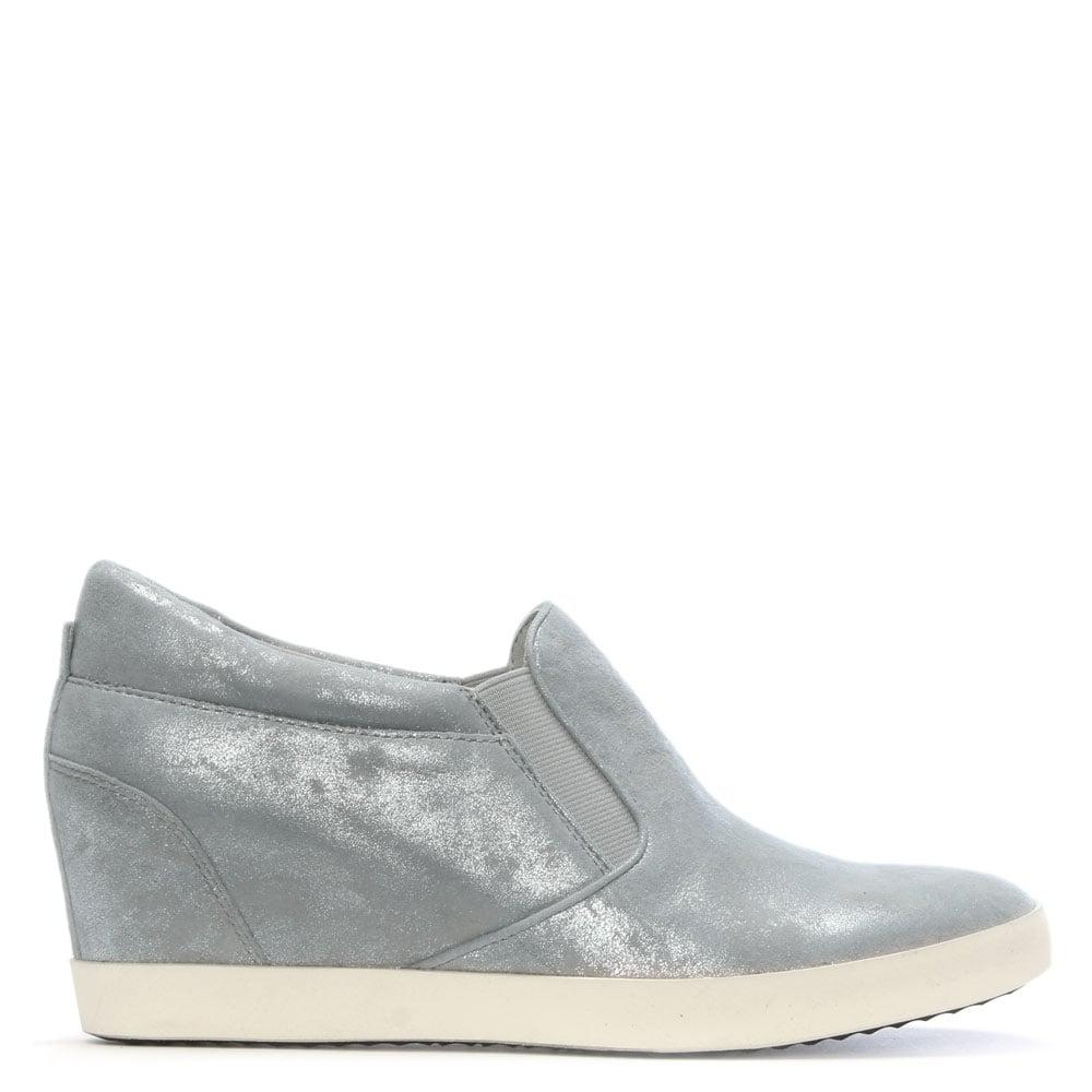 Kennel Amp Schmenger Ragdoll Silver Metallic Leather Wedge Trainers Lyst