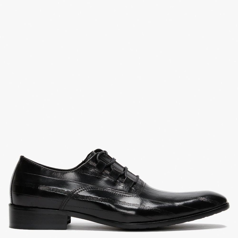 Black Lace Up Chaussures Knole par Oliver Sweeney