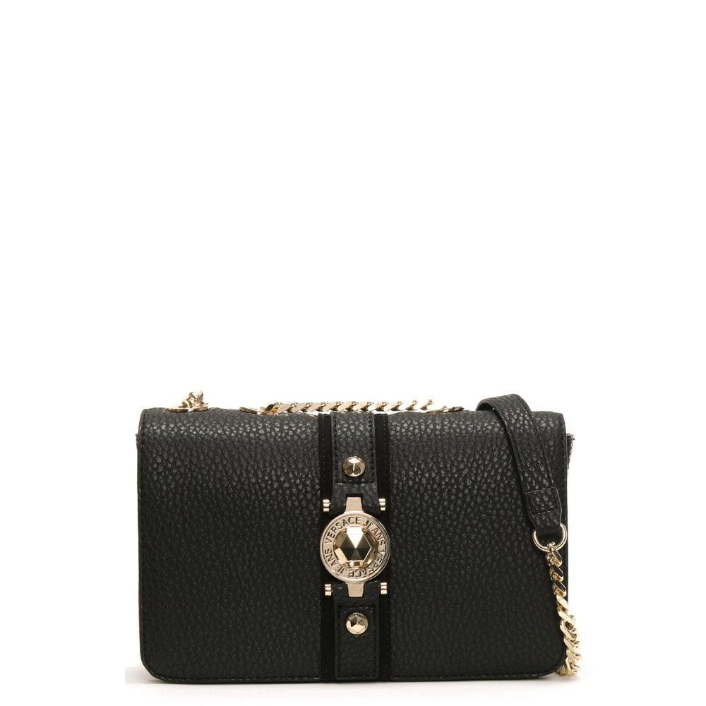d7d7174a03f16 Versace Jeans Black Crossbody Bag