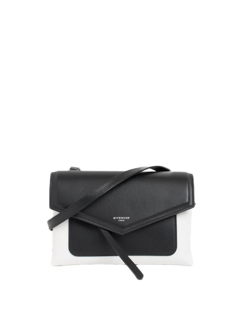 Givenchy Leather Duetto Cross-body Bag in Black