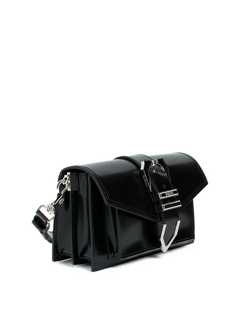 Versus buckled shoulder bag - Black GIyjS5K