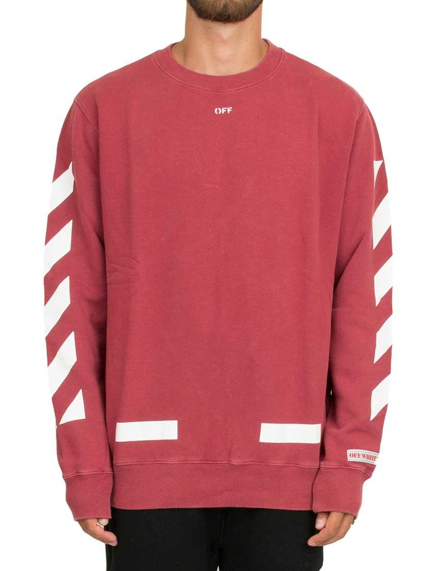 Off-white c/o virgil abloh 'diag Arrows' Sweatshirt in Red for Men ...
