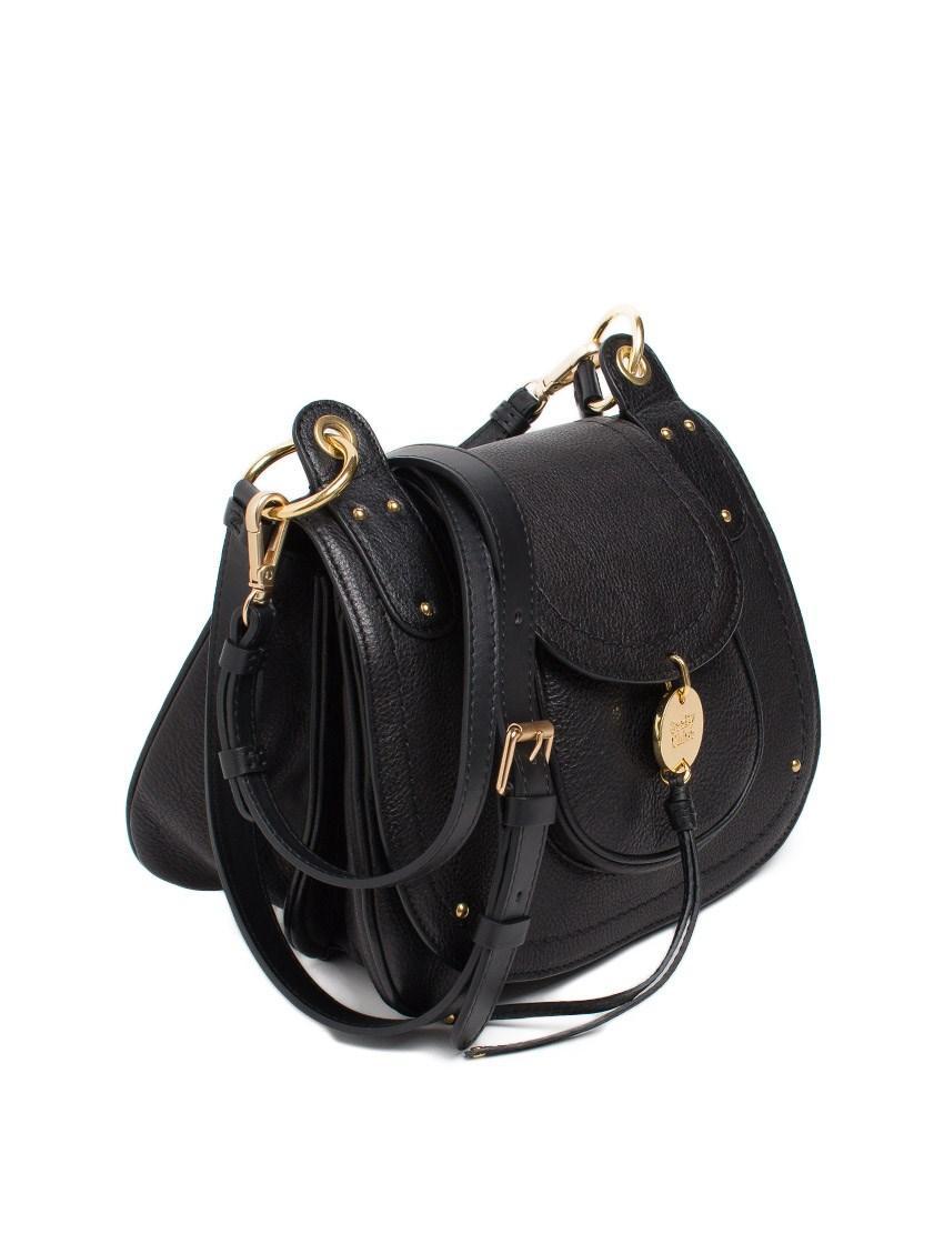 See By Chlo 233 Susie Leather Shoulder Bag In Black Lyst