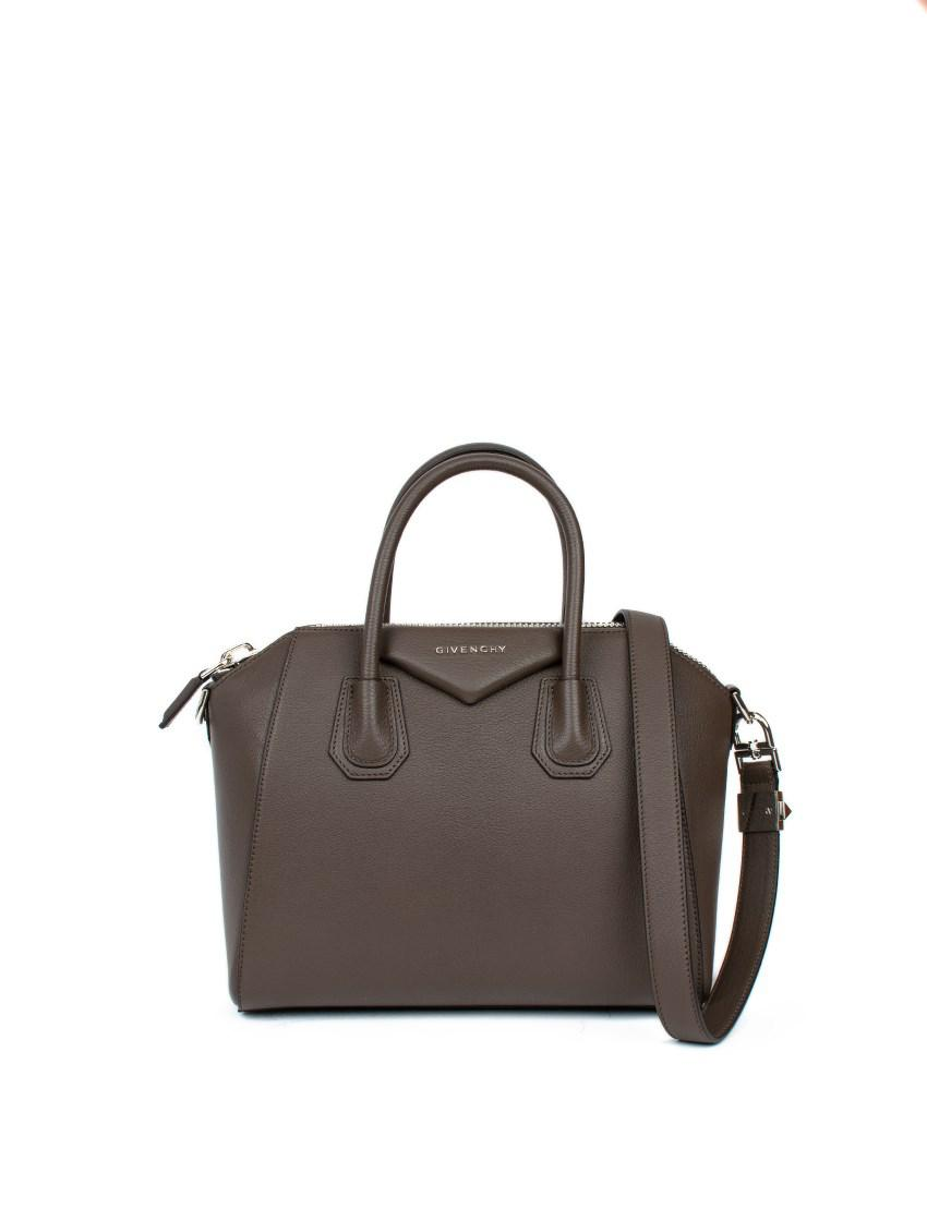 Givenchy - Brown Antigona  Mini Leather Bag - Lyst. View fullscreen f3a49d2977