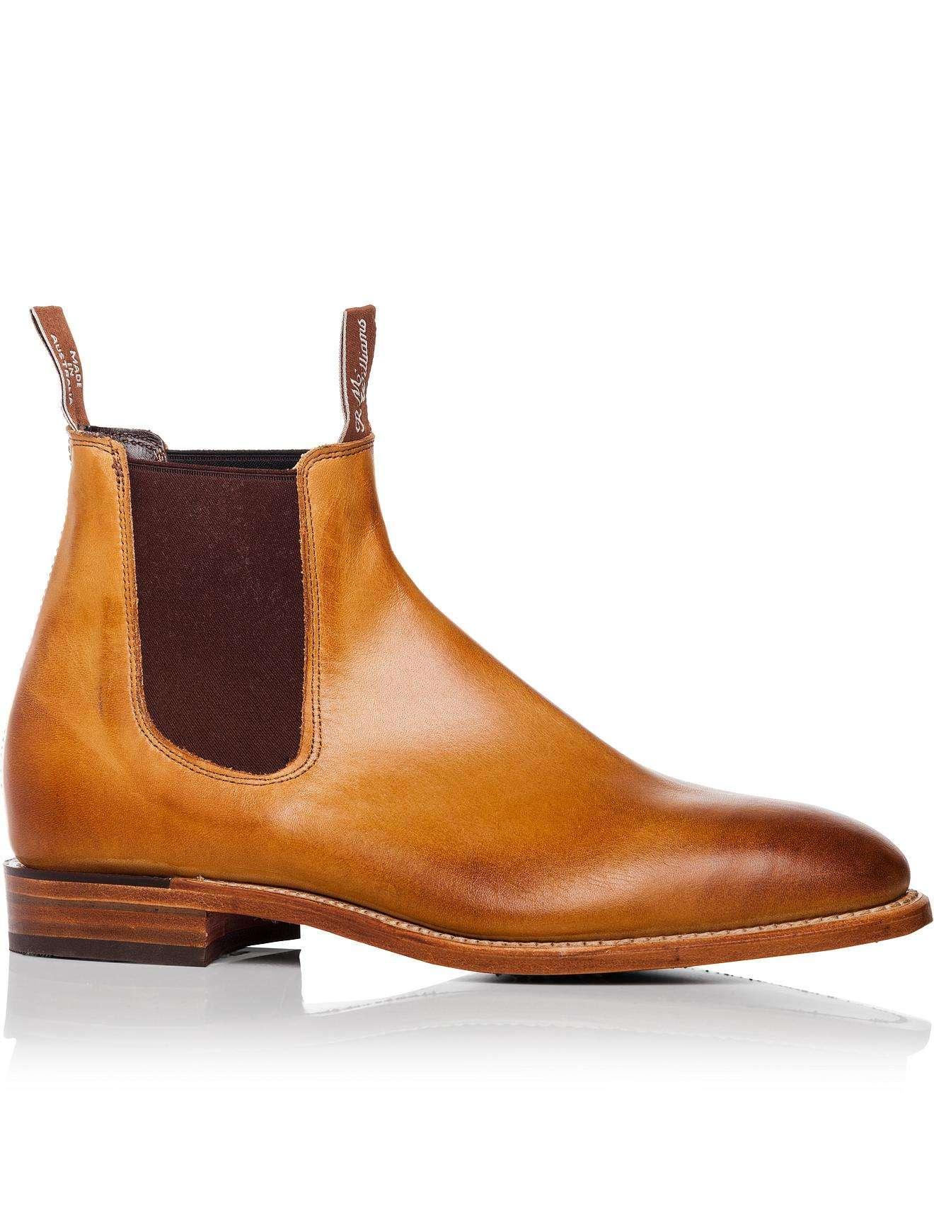 3fd271183f9 R.m. Williams Brown Chinchilla Boot
