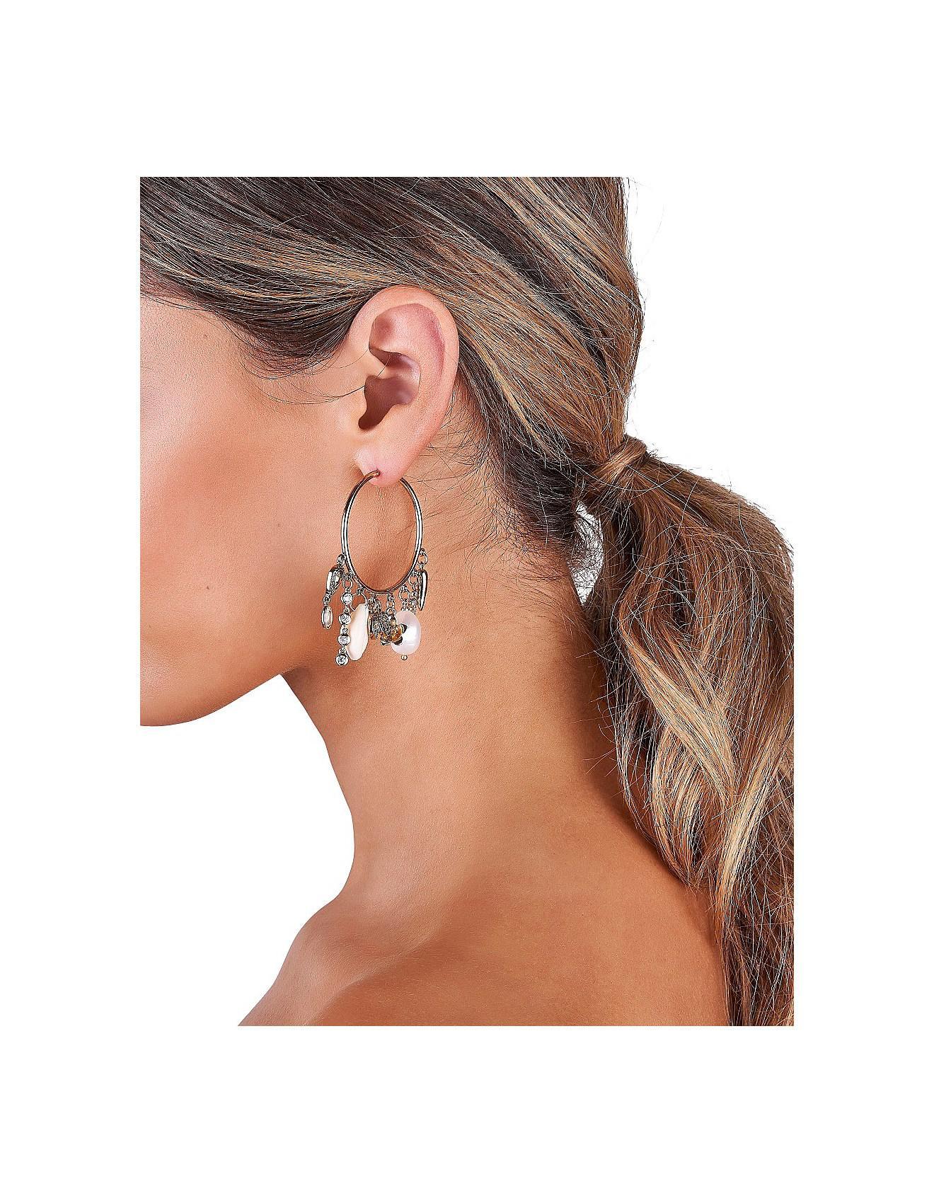 Meet Me In Monaco Hoop Earrings