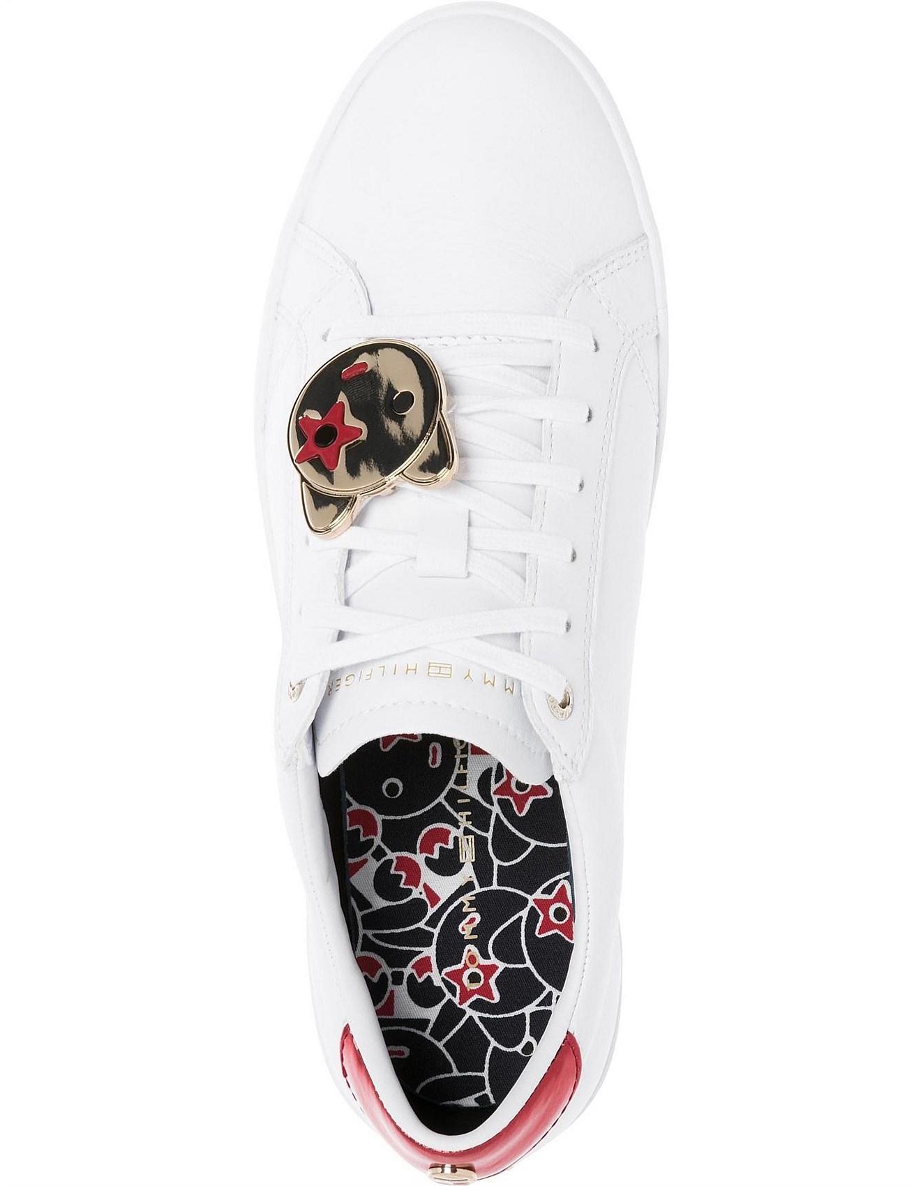 Black & Pink Mascotti Heels