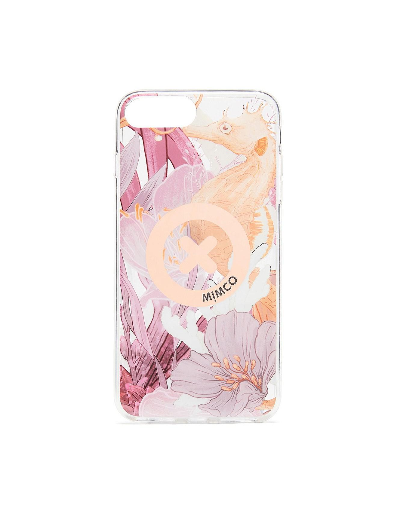 pretty nice 1ceb9 618be Mimco Pink Super Hard Case For Iphone 6p/7p/8p