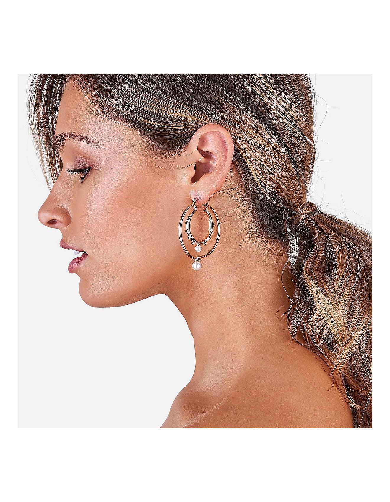 Women S Riviera Dreaming Hoop Earrings