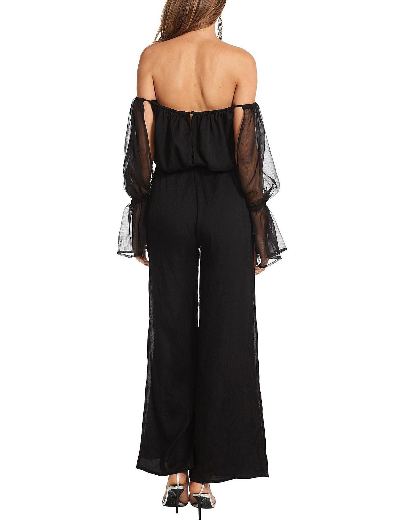 9e863429aeb Lioness Show Me The Way Jumpsuit in Black - Save 40% - Lyst