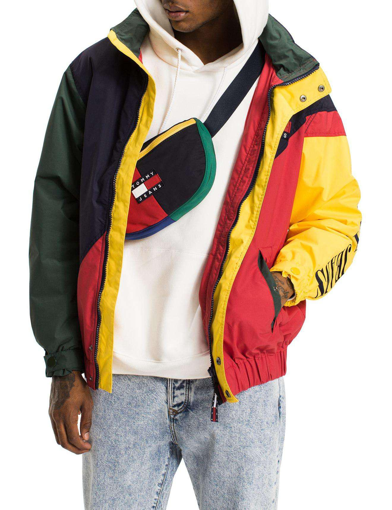 c4391666f Tommy Hilfiger Tommy Jeans 90s Colorblock Sailing Jacket for Men - Lyst