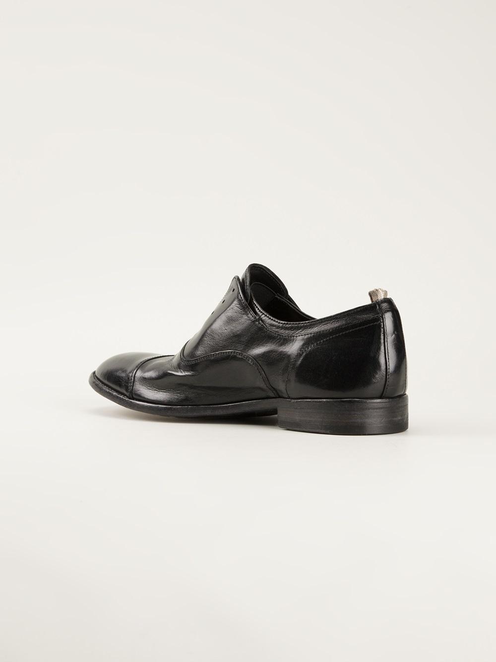 Black Laceless Dress Shoes
