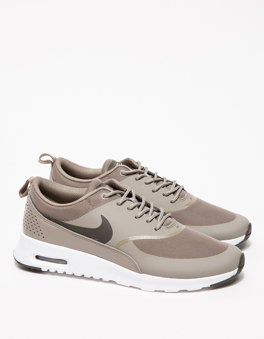 low priced f3b4a 81ad9 ... france nike air max thea in brown lyst 8c31a a1ca4