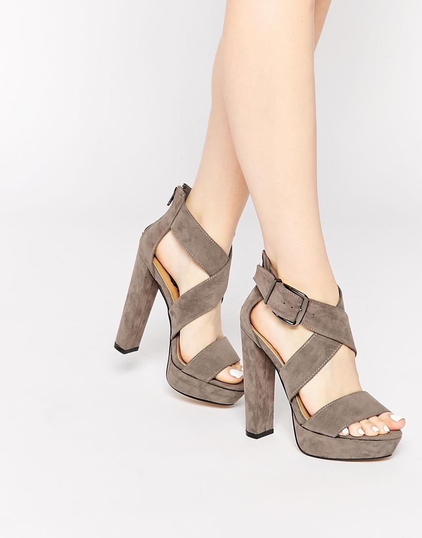 Sandal Platform Heels - Red Heels Vip