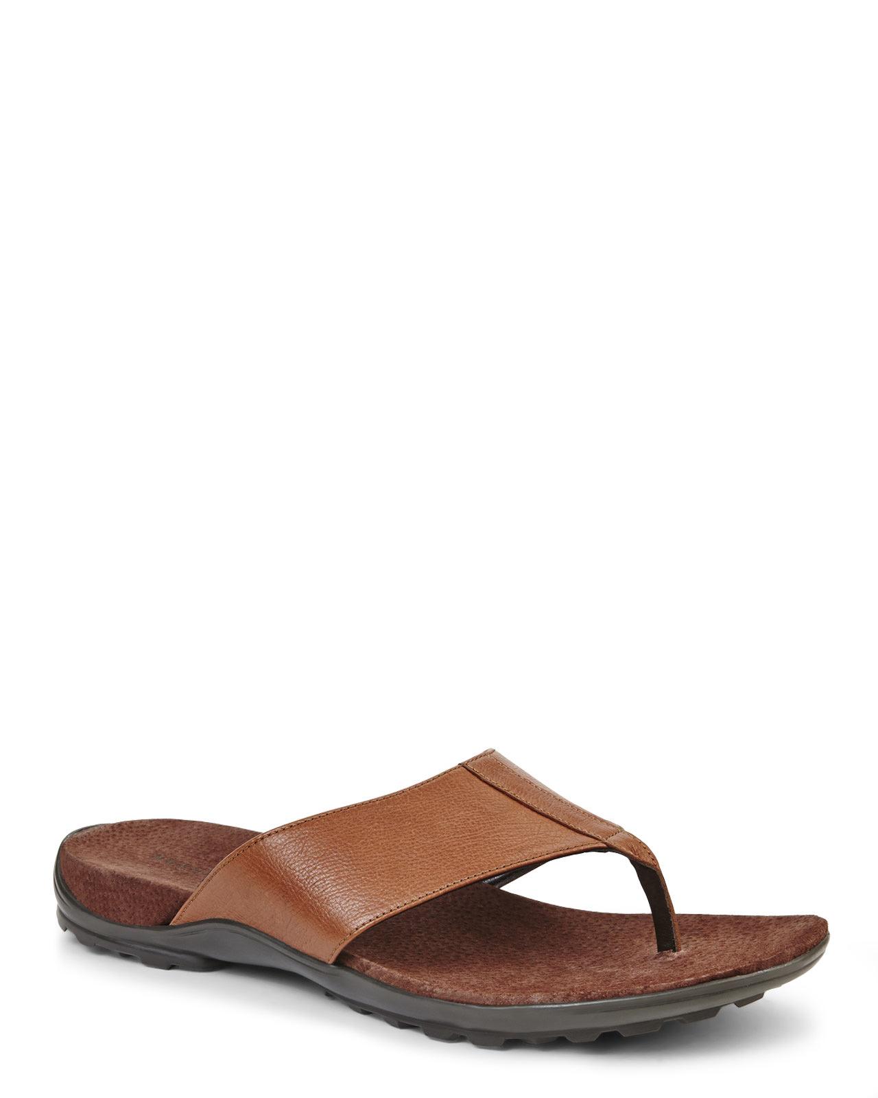 13597693059c Lyst - Cole Haan Chestnut Tucker Thong Sandal in Brown for Men
