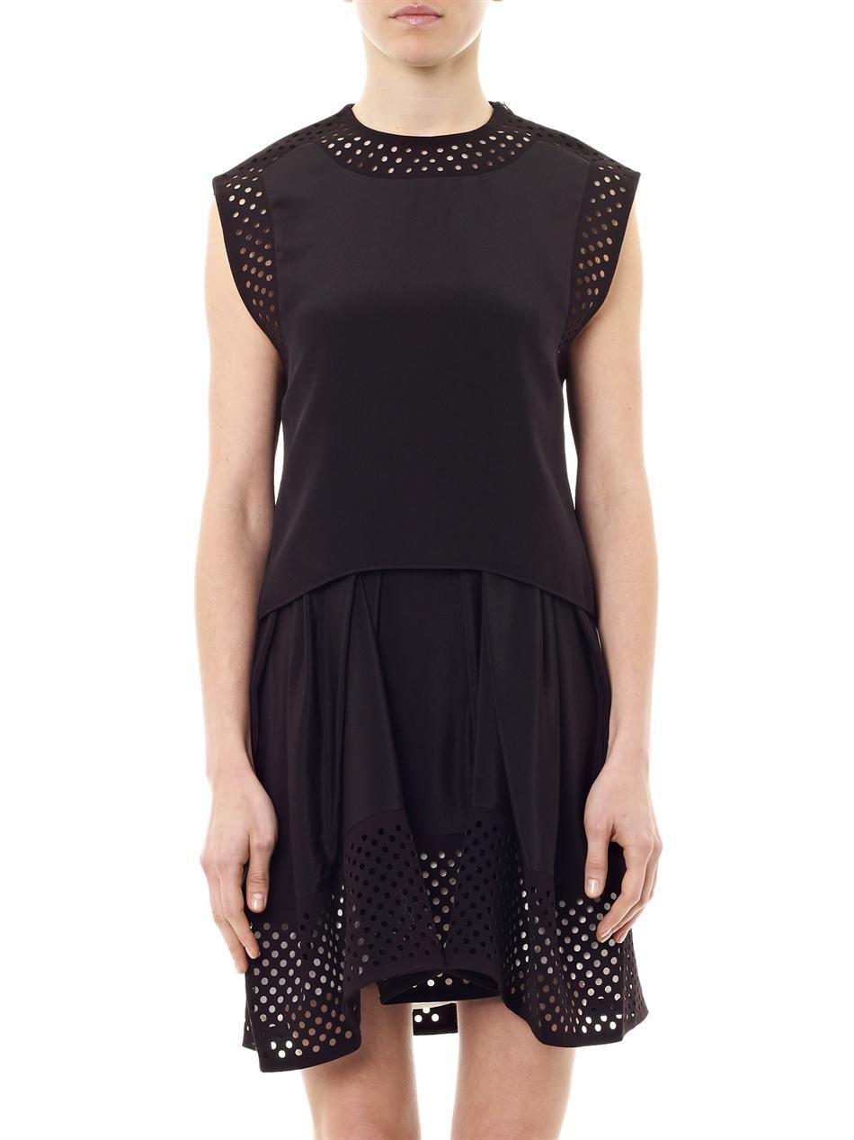 Phillip lim black silk dress