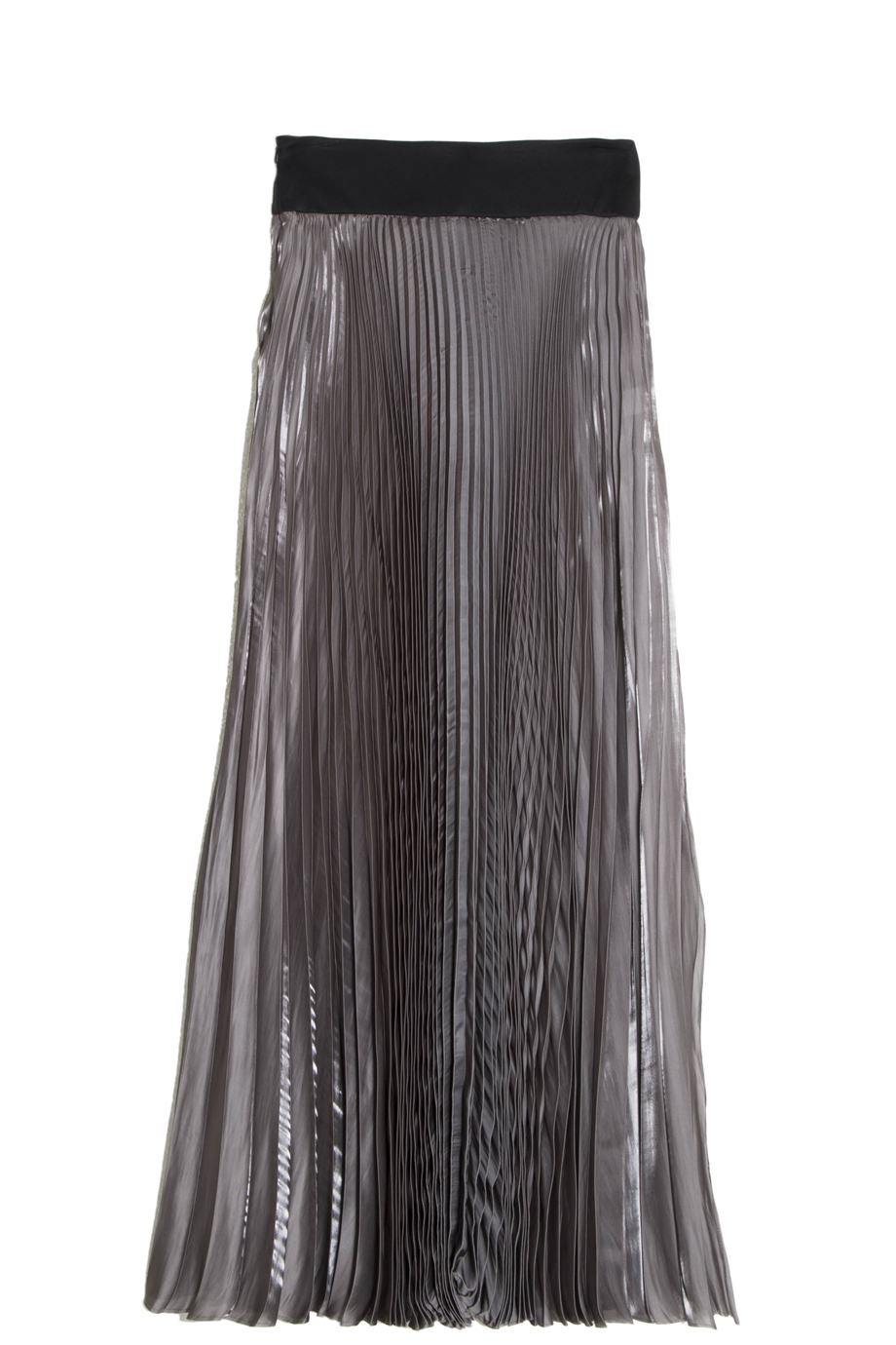 galvan pleated skirt in gray lyst