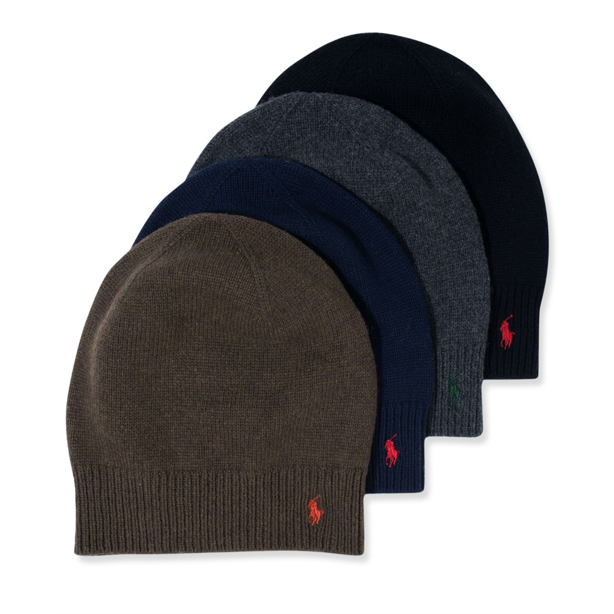ralph lauren slouchy skull cap in black for men lyst. Black Bedroom Furniture Sets. Home Design Ideas