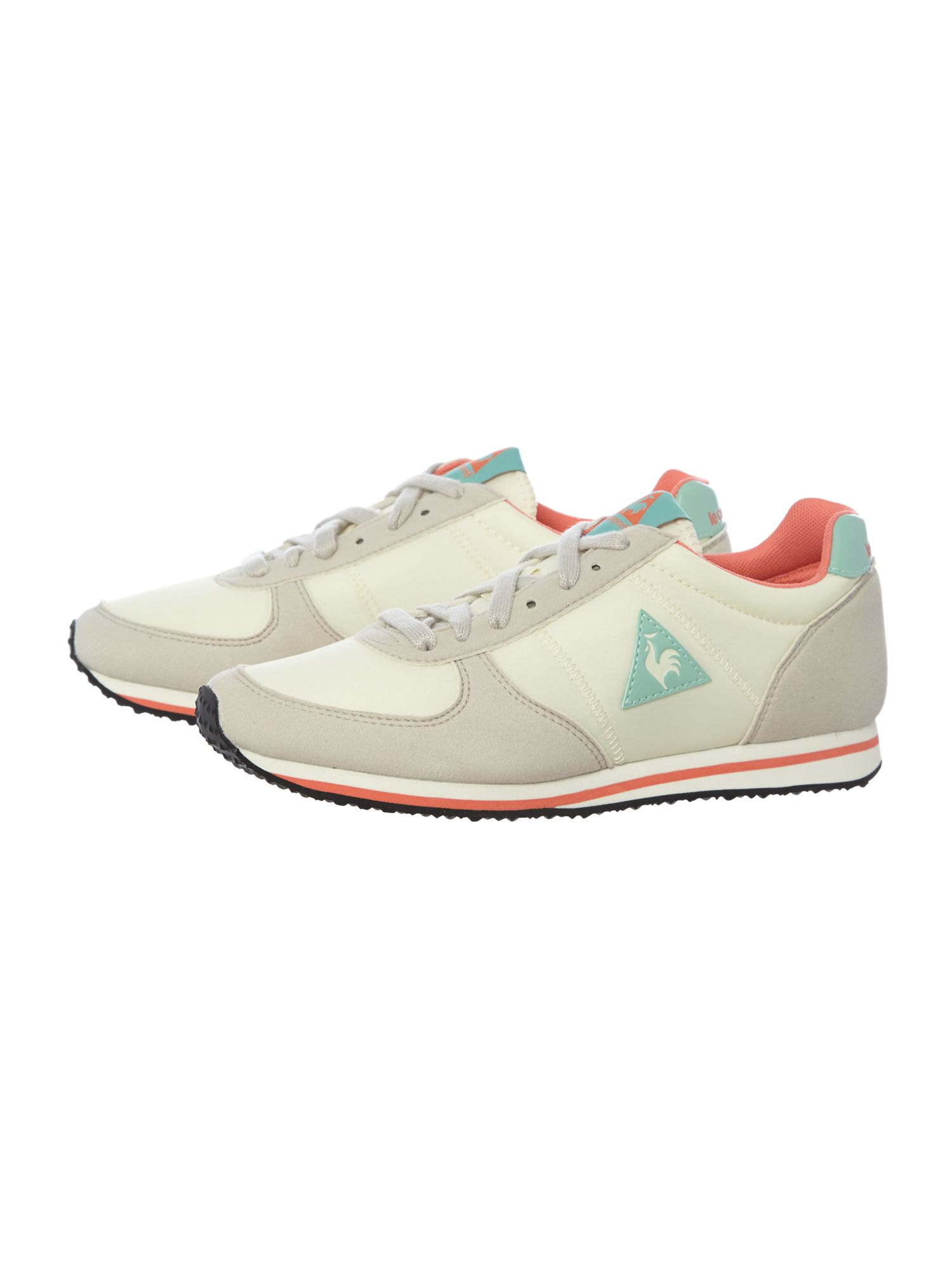 le coq sportif bolivar women running shoes in natural lyst. Black Bedroom Furniture Sets. Home Design Ideas