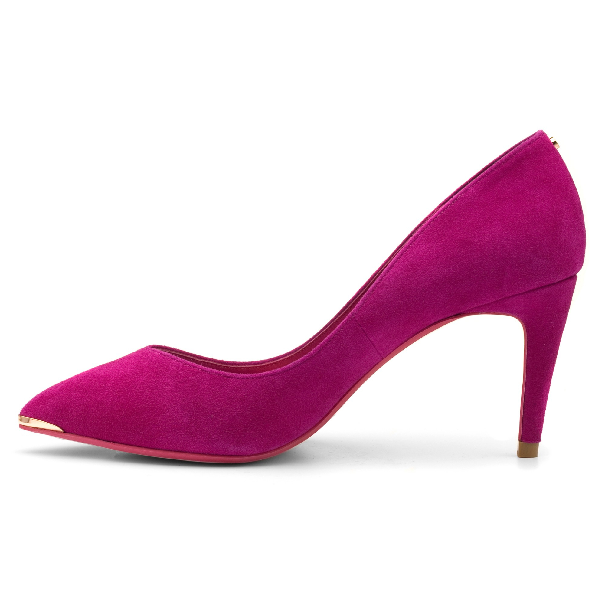 3ad51787677 Ted Baker Pink Monirra Pointed Court Shoes