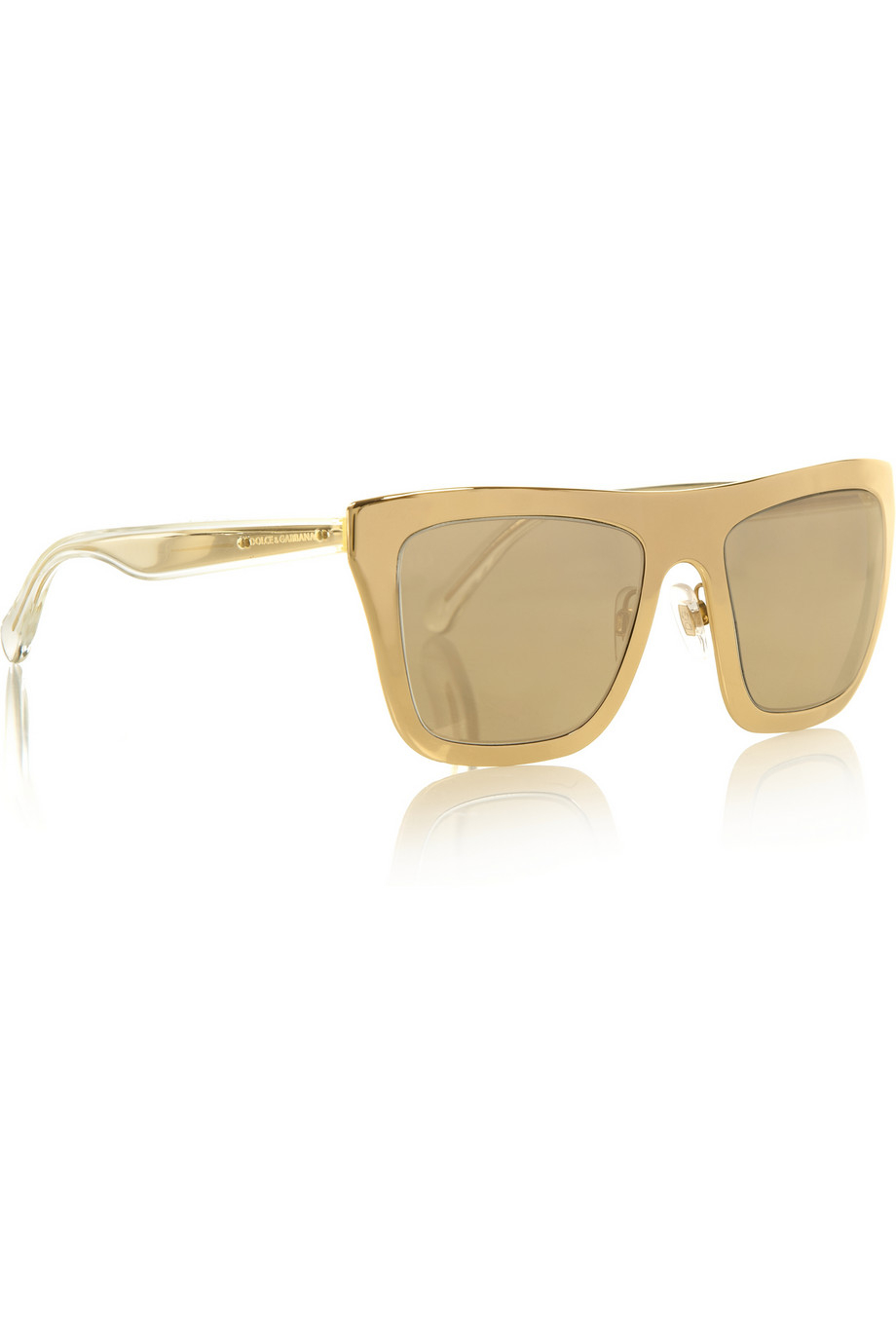 6f51be40ea5 Dolce Gabbana Gold Sunglasses